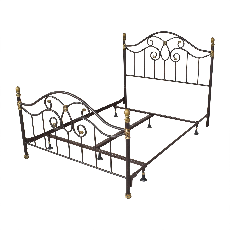 Raymour & Flanigan Raymour & Flanigan Openwork Queen Bed price