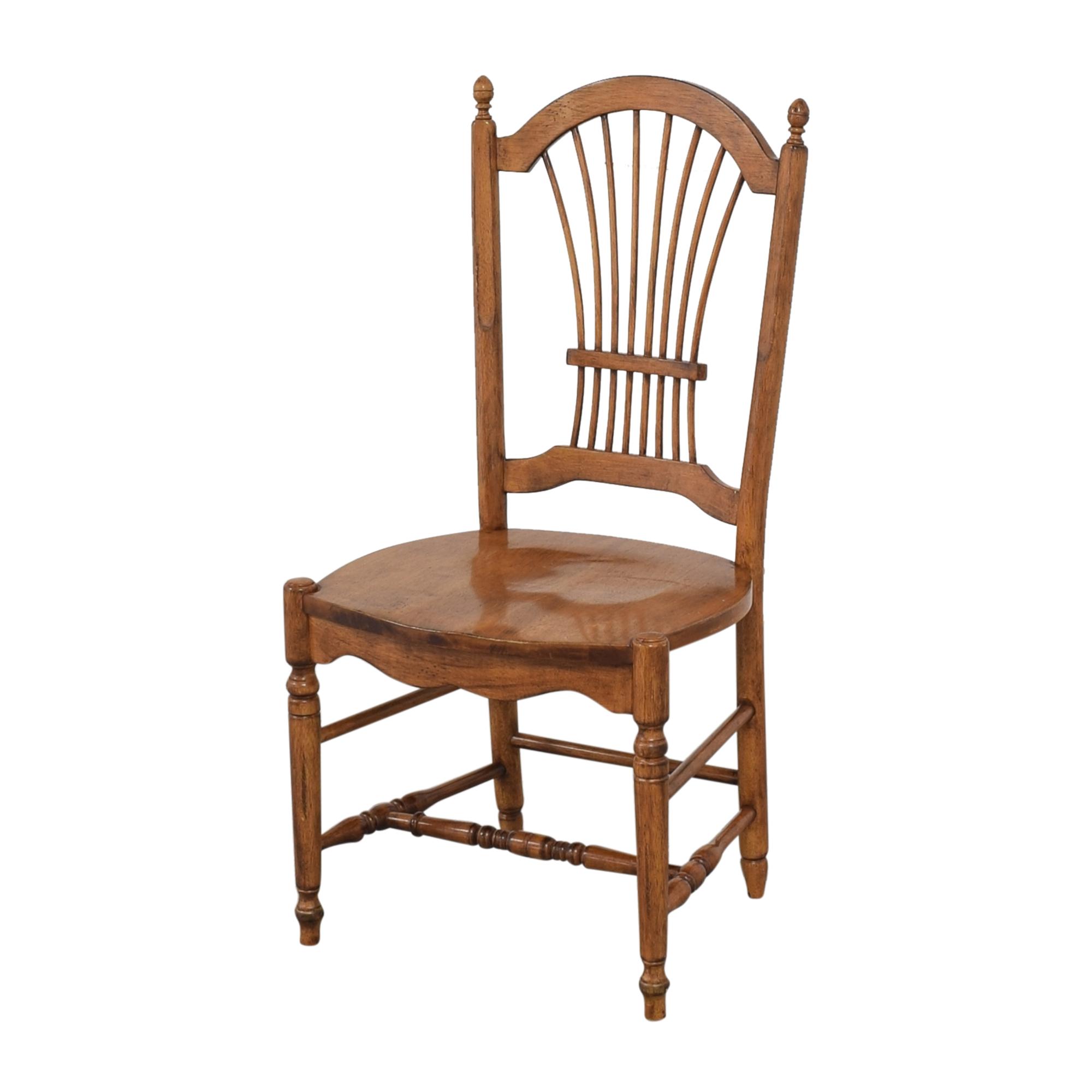 Drexel Drexel Sheaf Back Dining Chairs pa