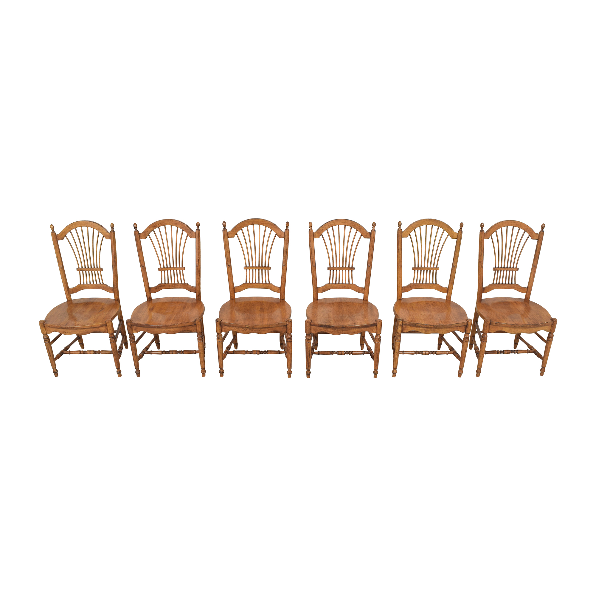 Drexel Drexel Sheaf Back Dining Chairs used