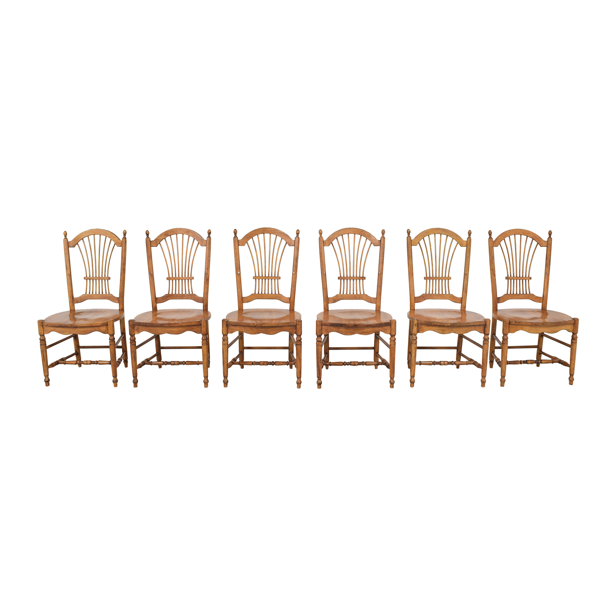 Drexel Drexel Sheaf Back Dining Chairs Dining Chairs
