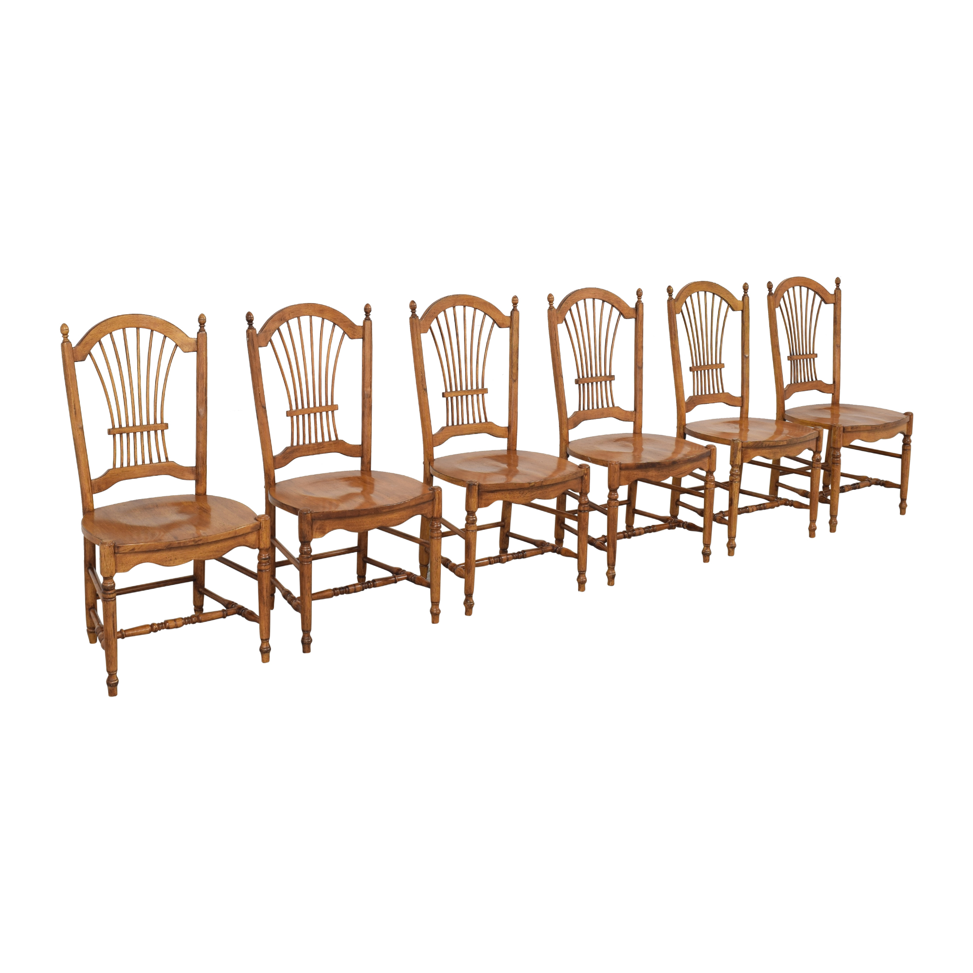 Drexel Drexel Sheaf Back Dining Chairs nj