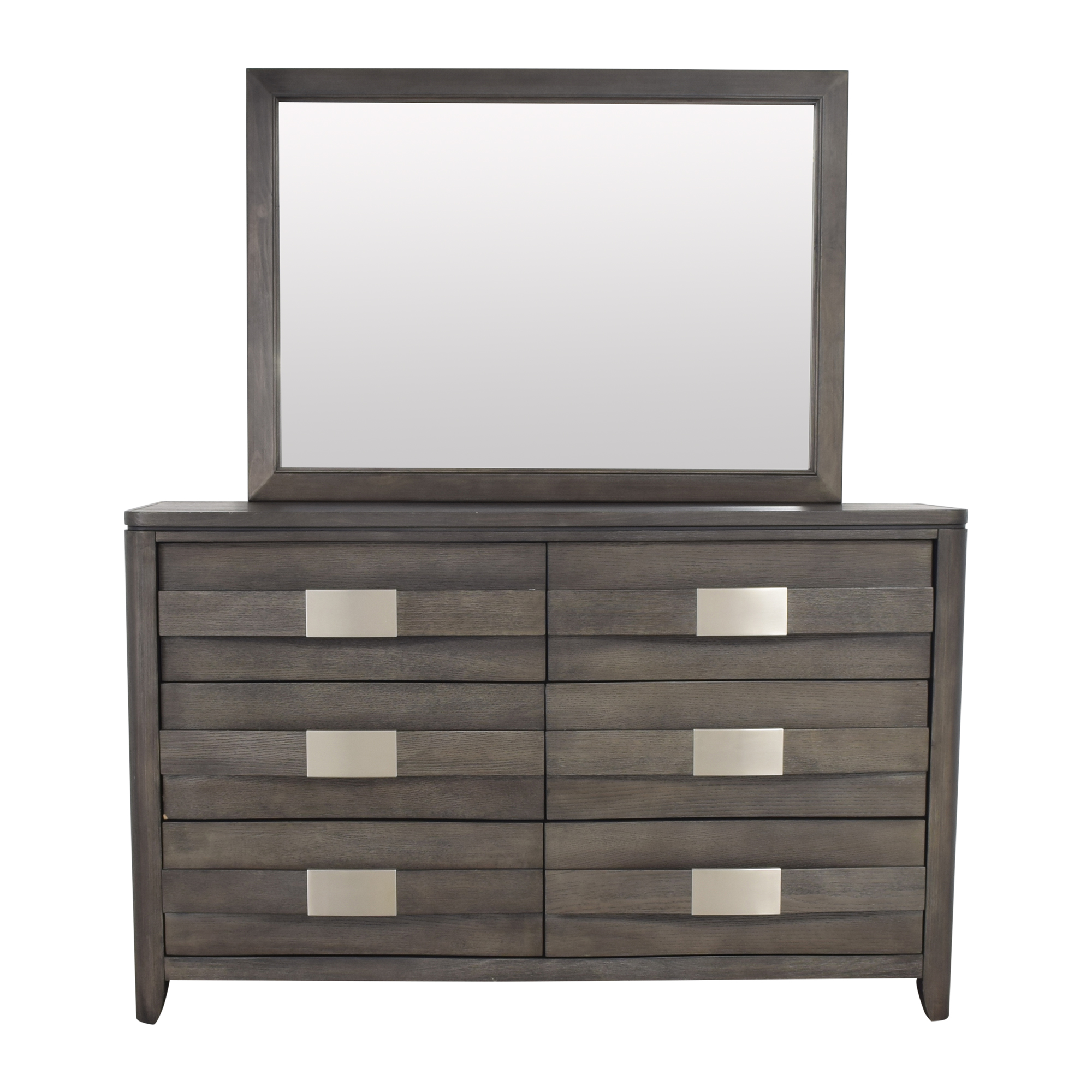 buy Six Drawer Dresser with Mirror