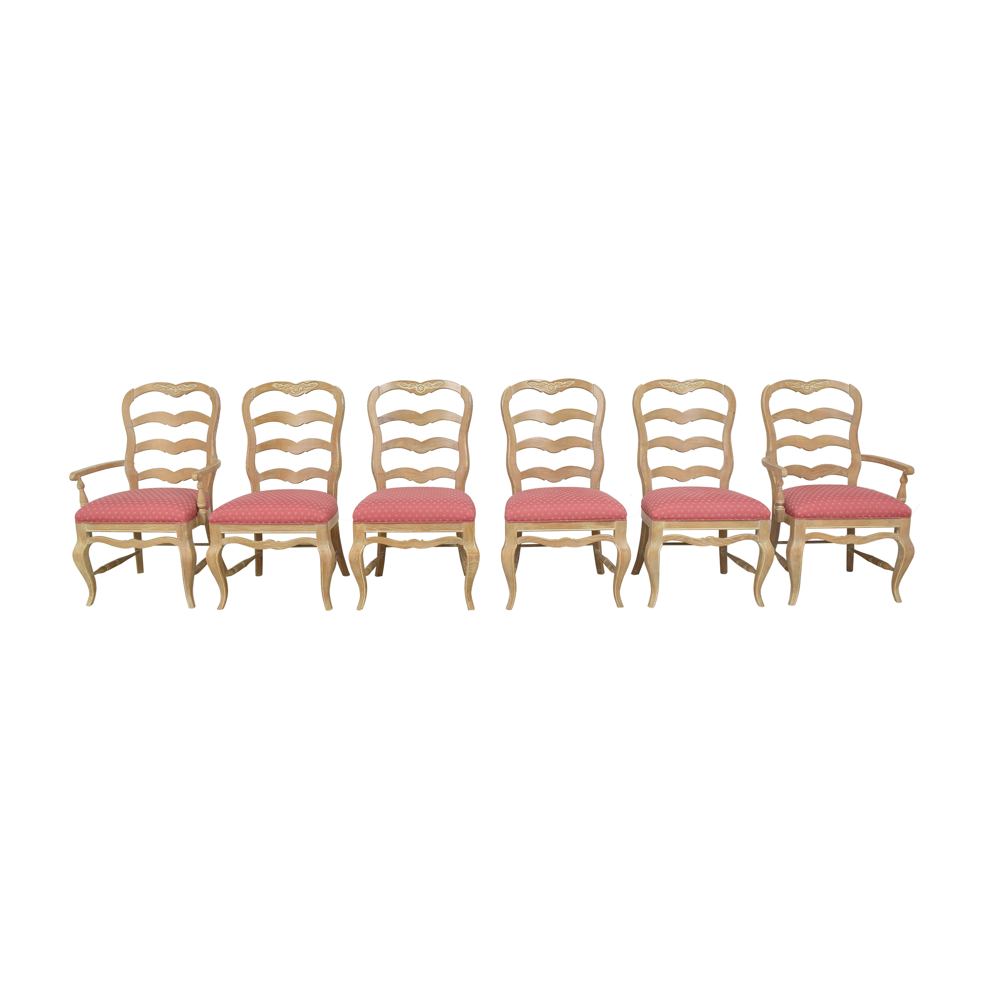 shop Pennsylvania House Country French Ladder Back Dining Chairs Pennsylvania House Dining Chairs