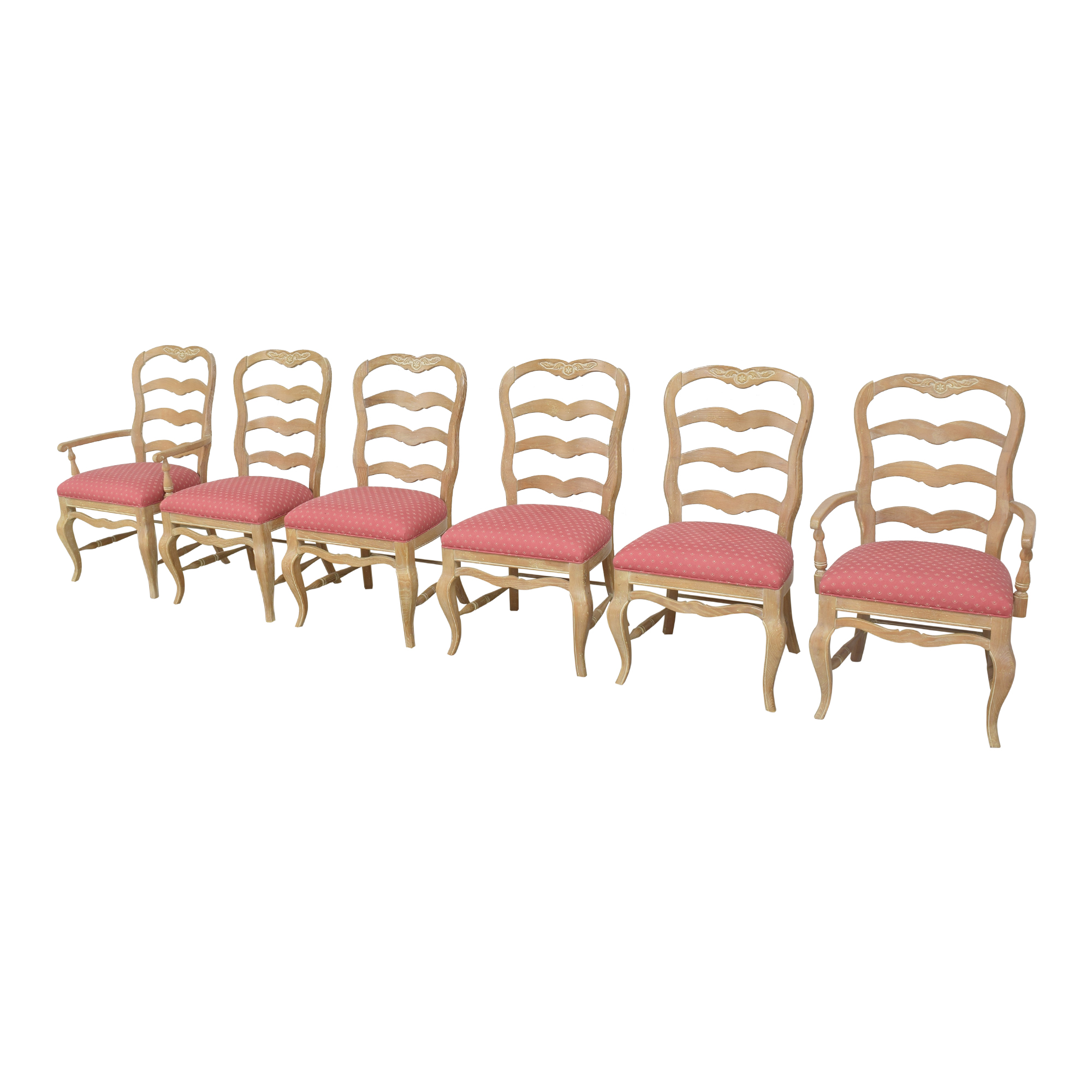 Pennsylvania House Pennsylvania House Country French Ladder Back Dining Chairs used