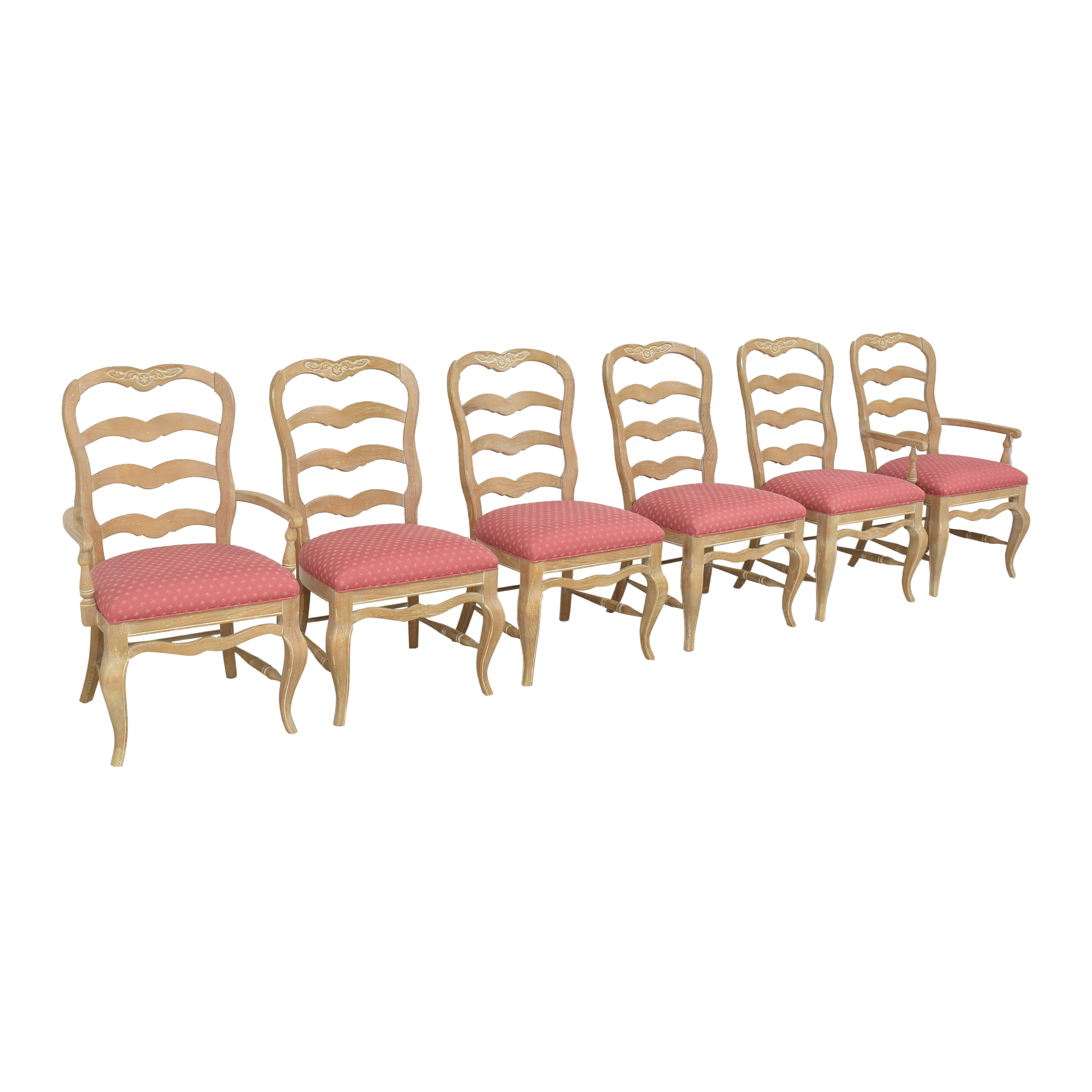 shop Pennsylvania House Country French Ladder Back Dining Chairs Pennsylvania House Chairs