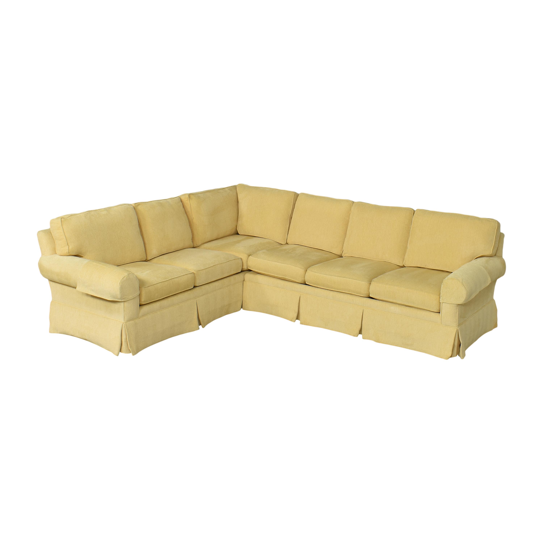 Lexington Furniture Lexington Furniture Skirted Corner Sectional Sofa Sofas