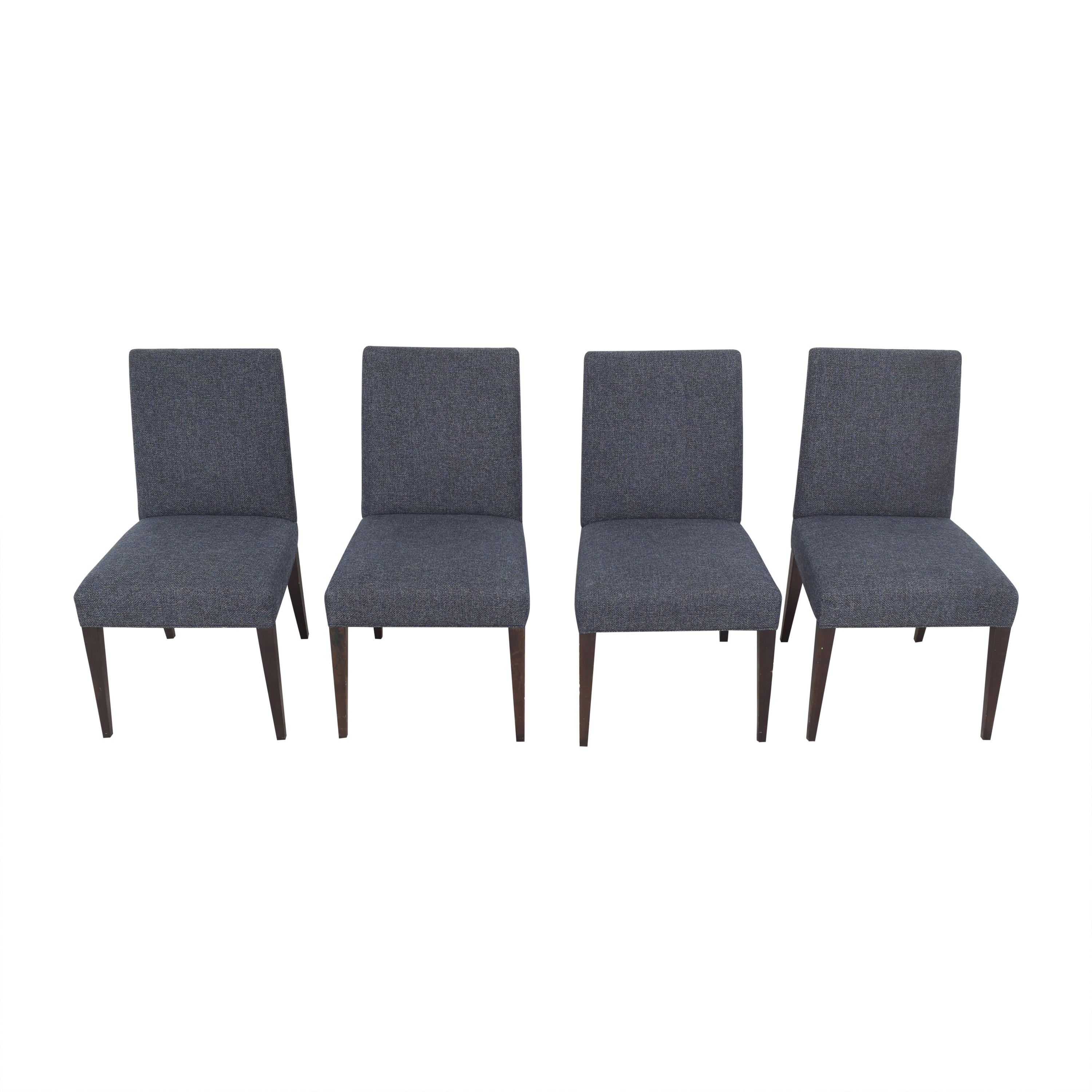Crate & Barrel Crate & Barrel Miles Upholstered Dining Chairs nj