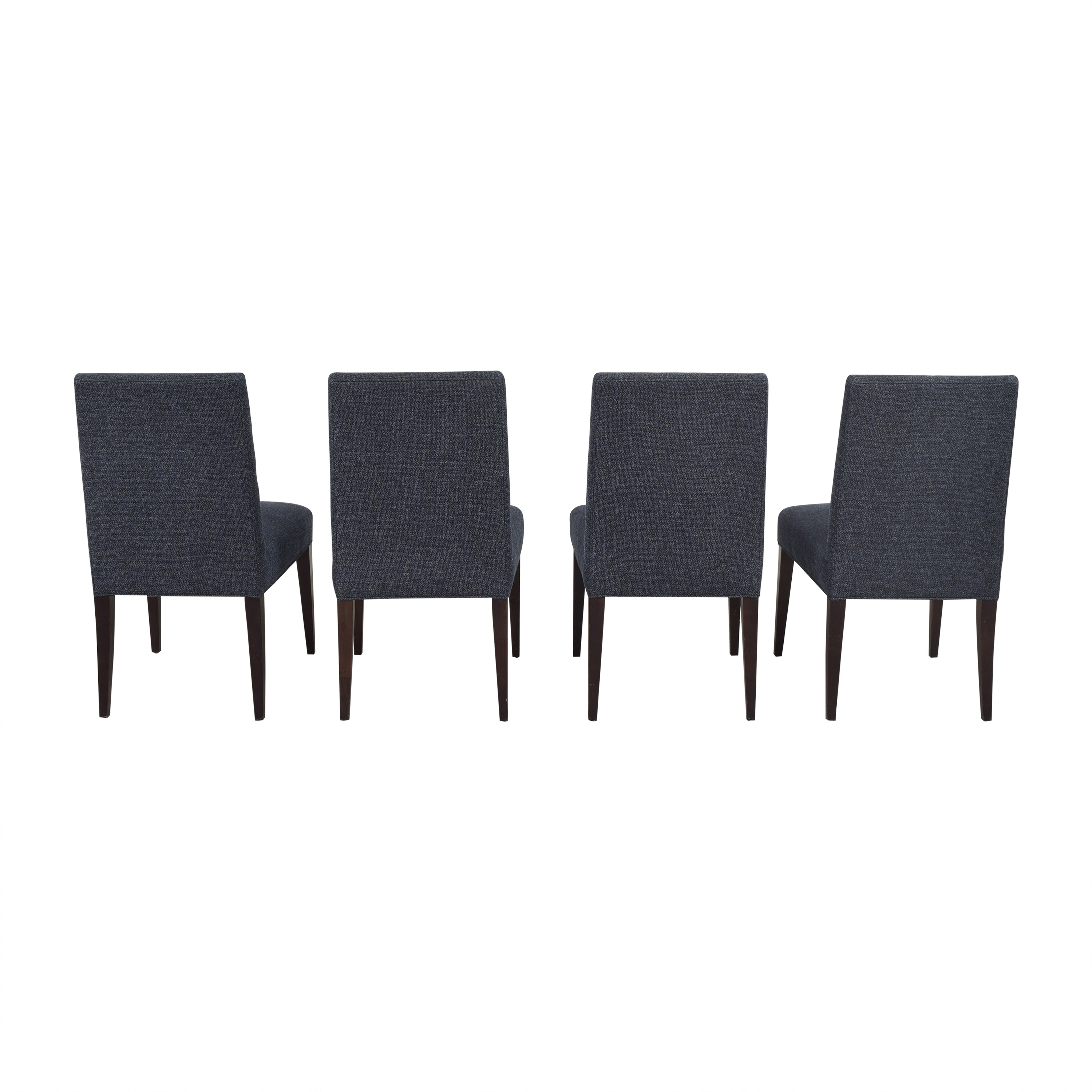 Crate & Barrel Crate & Barrel Miles Upholstered Dining Chairs pa