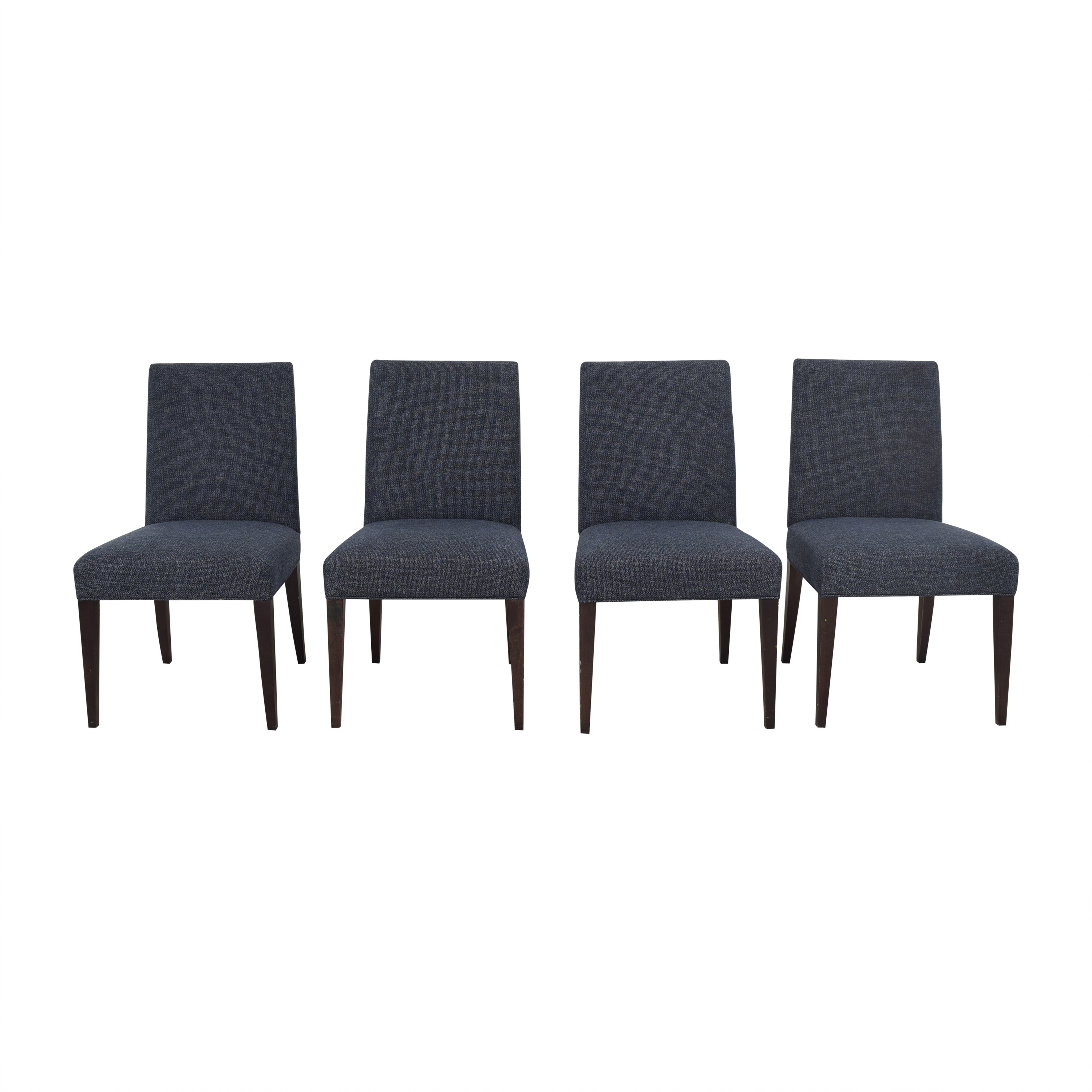 Crate & Barrel Miles Upholstered Dining Chairs / Dining Chairs