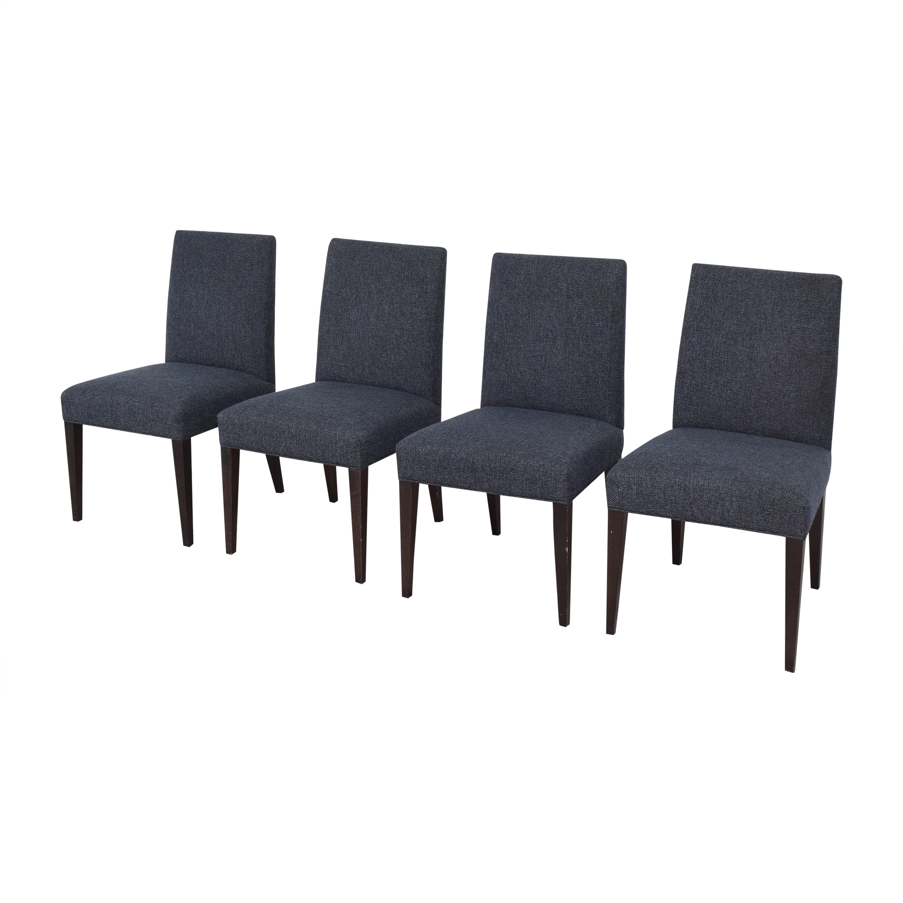 shop Crate & Barrel Miles Upholstered Dining Chairs Crate & Barrel Chairs