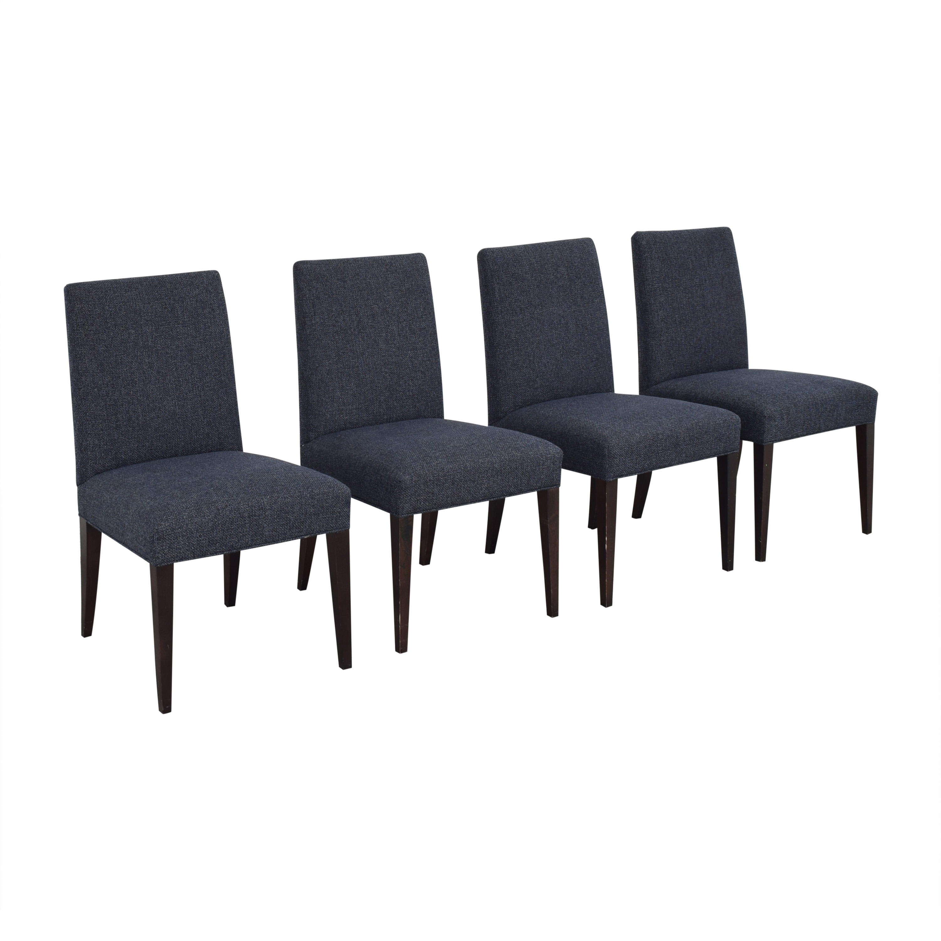 Crate & Barrel Miles Upholstered Dining Chairs / Chairs