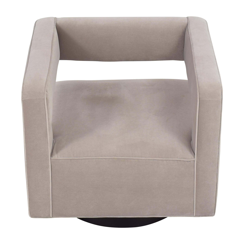 shop Mitchell Gold + Bob Williams Nico Return Swivel Chair Mitchell Gold + Bob Williams Accent Chairs