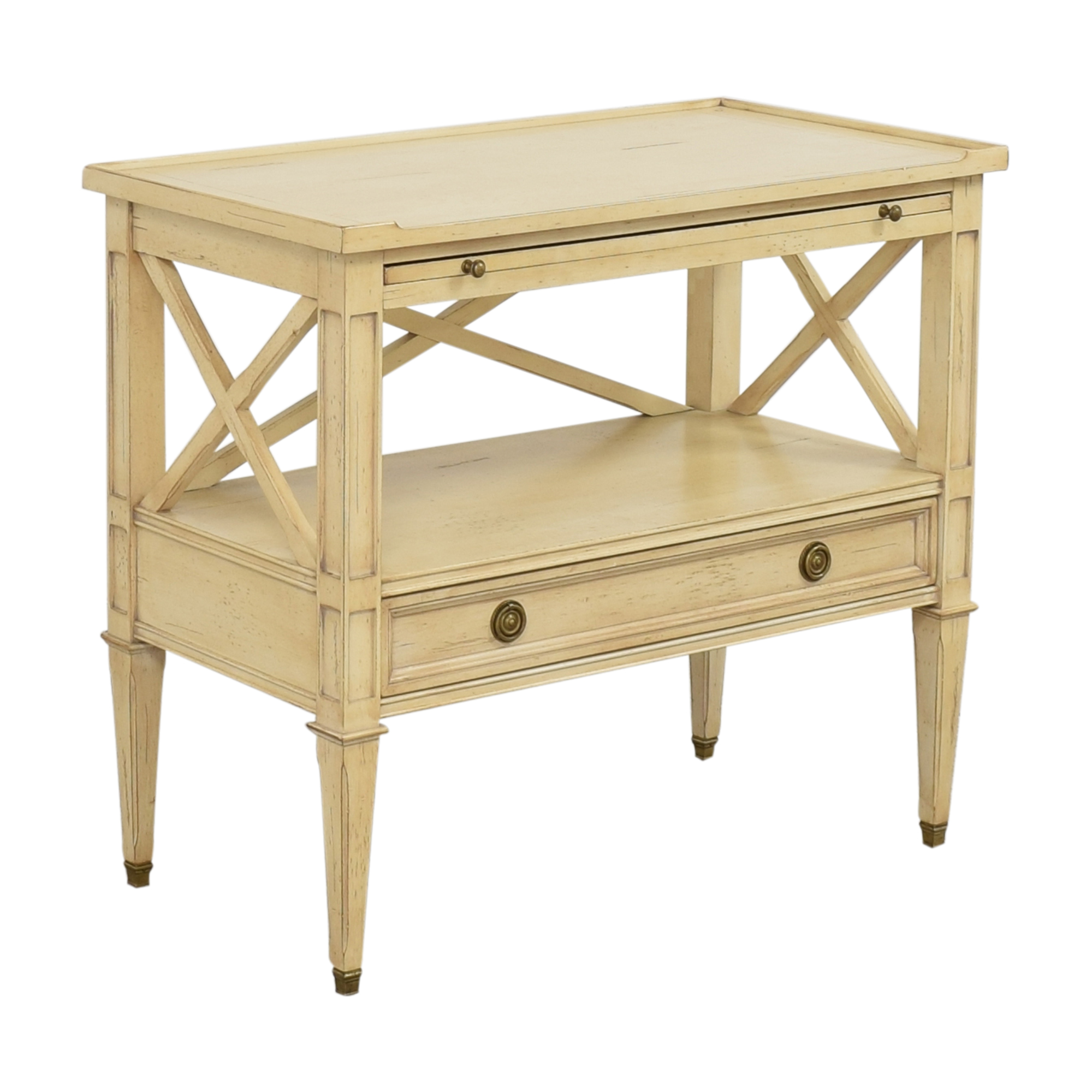 Hickory White Continental Bedside Table sale