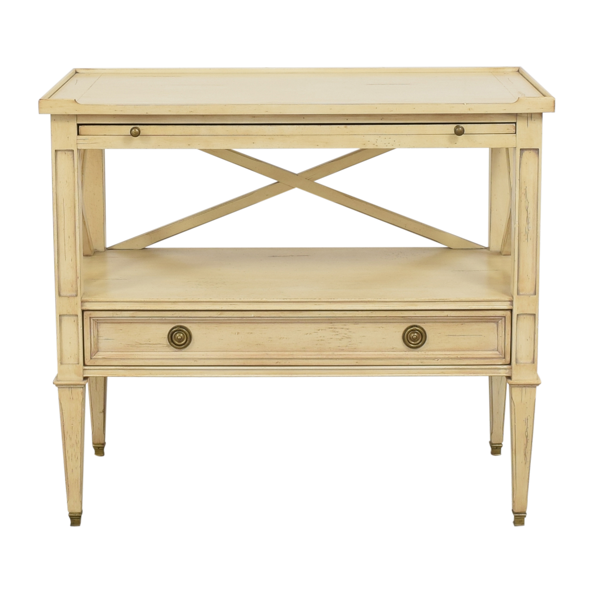 buy Hickory White Continental Bedside Table Hickory White Tables