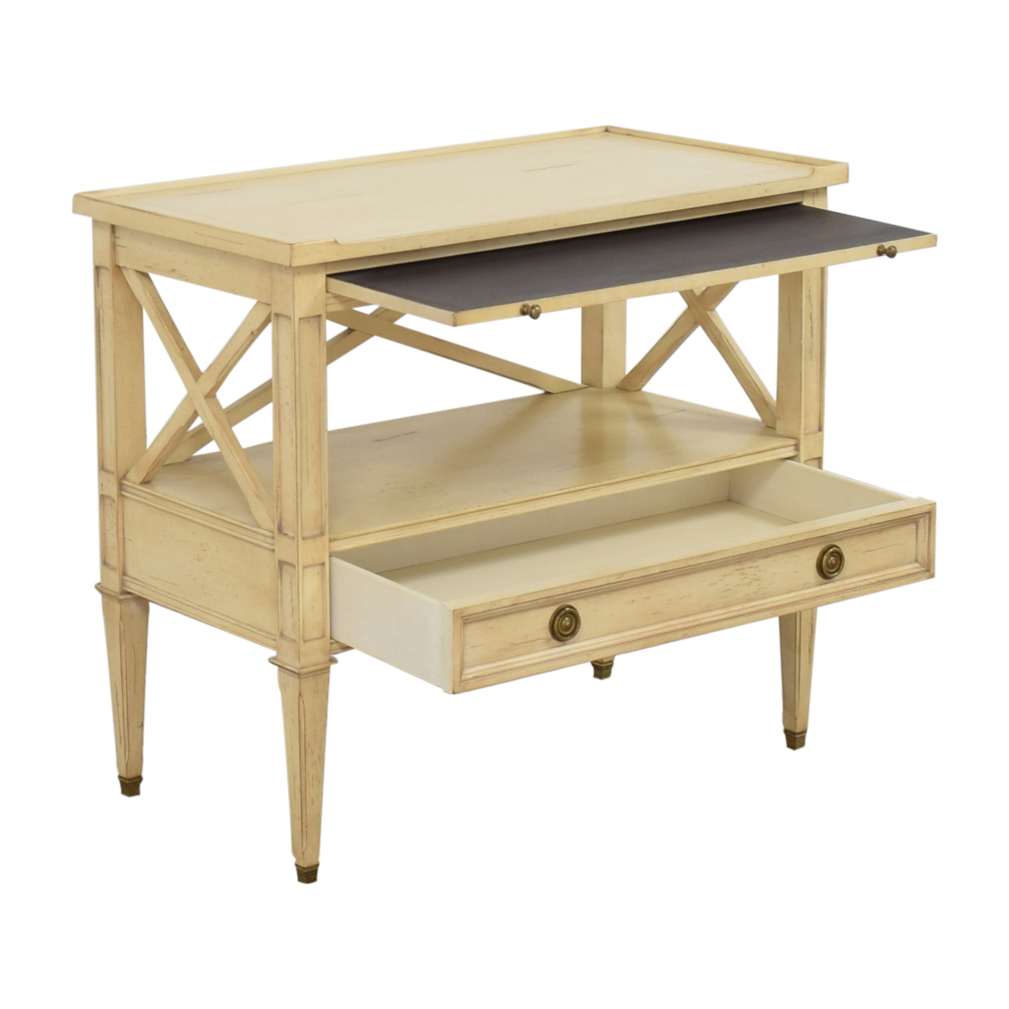 Hickory White Continental Bedside Table Hickory White