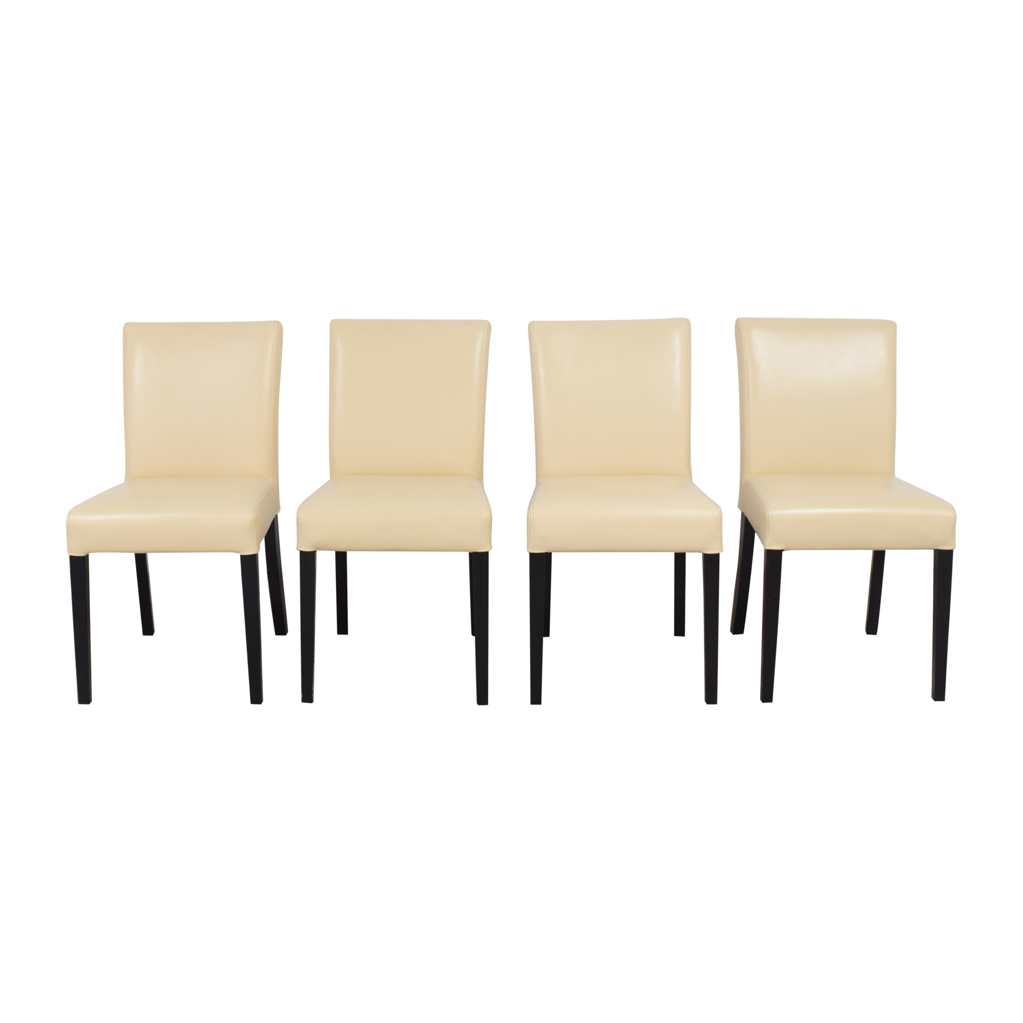 Crate & Barrel Lowe Dining Side Chairs Crate & Barrel