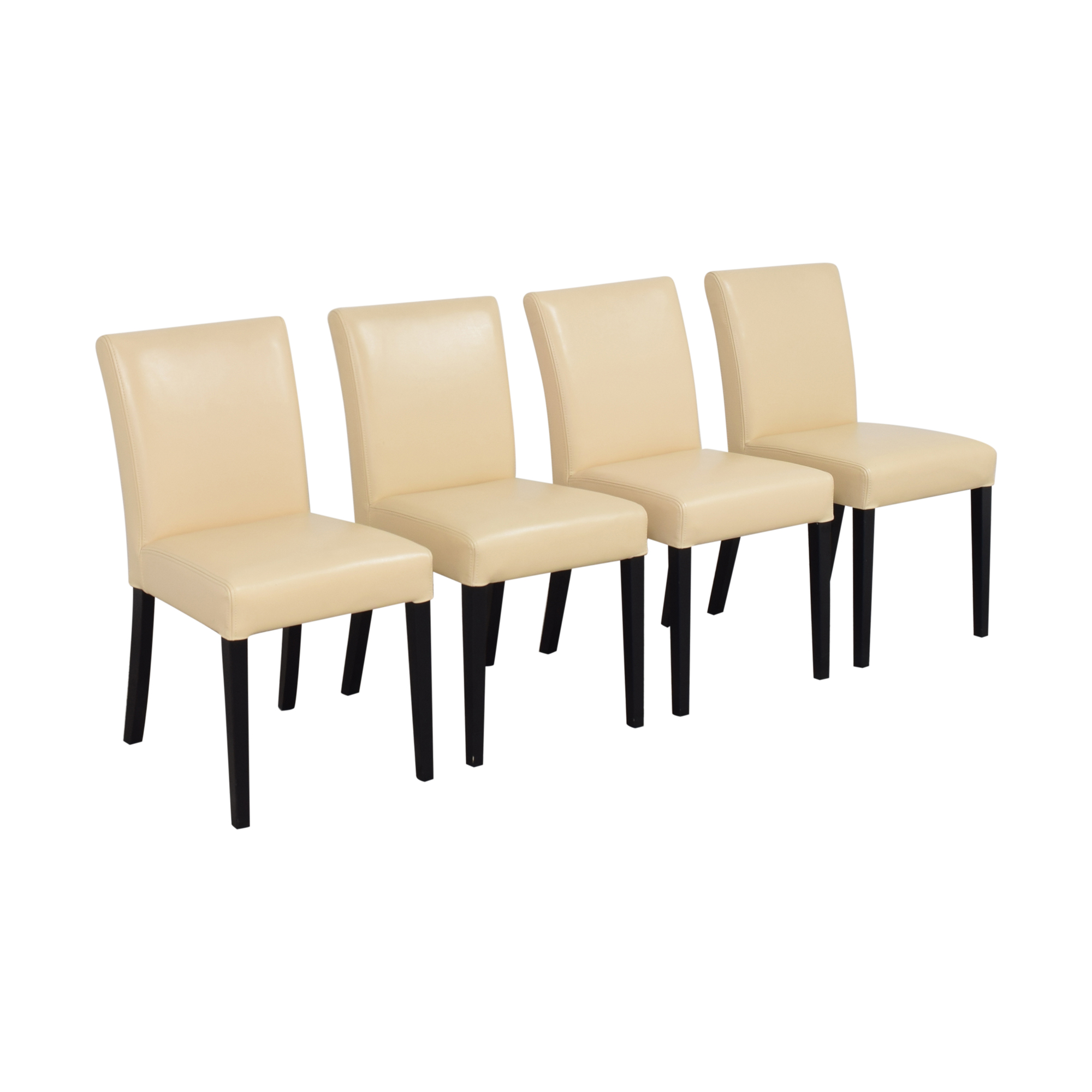 Crate & Barrel Crate & Barrel Lowe Dining Side Chairs ma