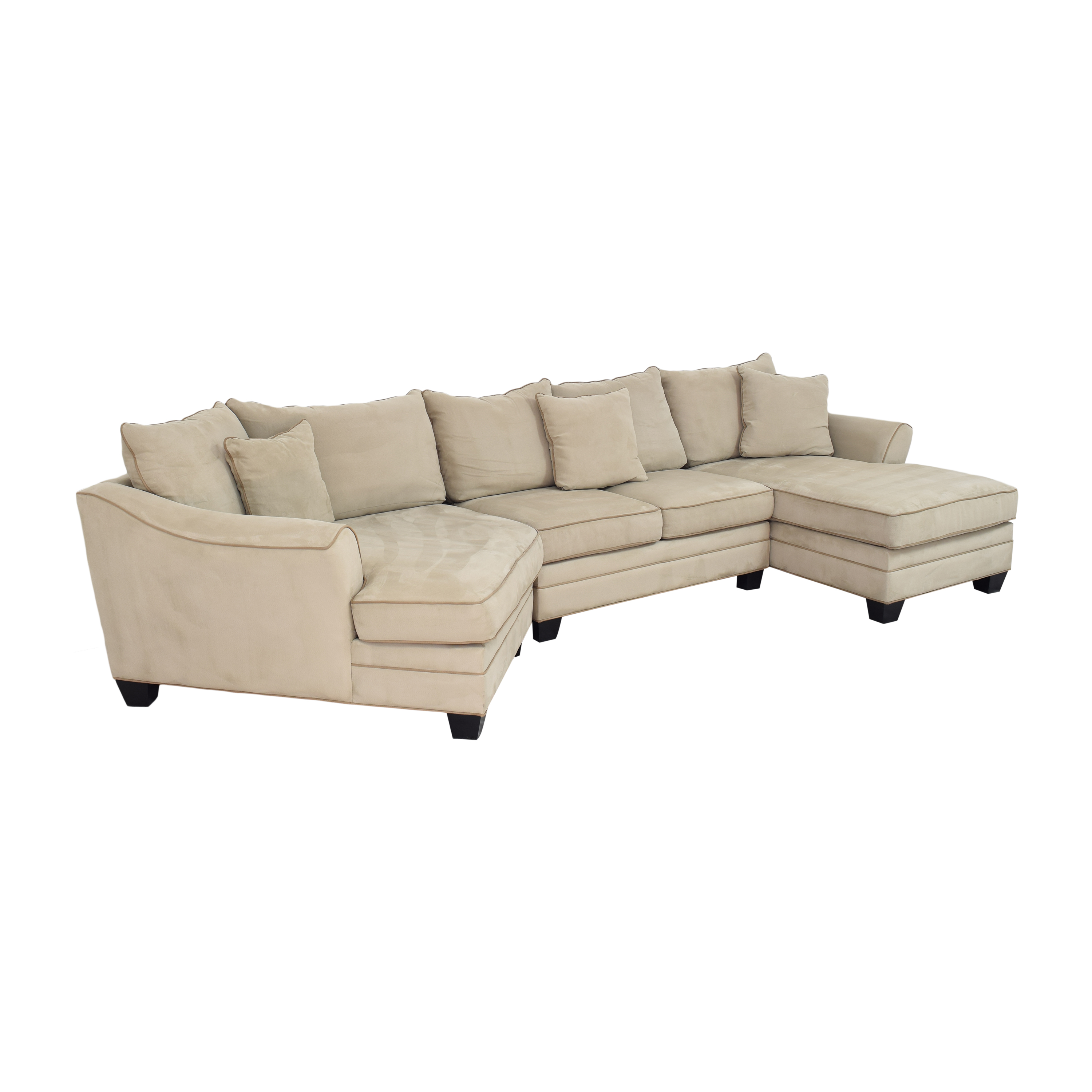shop Raymour & Flanigan Raymour & Flanigan Foresthill Sectional Sofa online