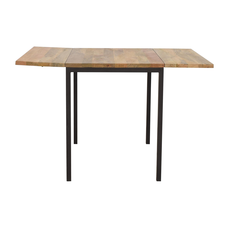 West Elm West Elm Box Frame Drop Leaf Dining Table nj