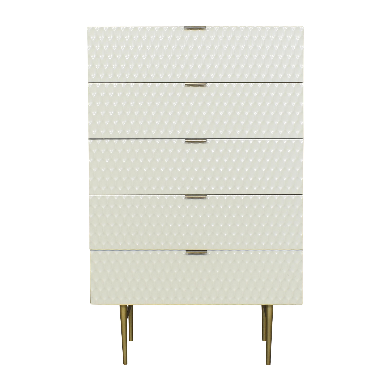West Elm Audrey Five Drawer Dresser sale