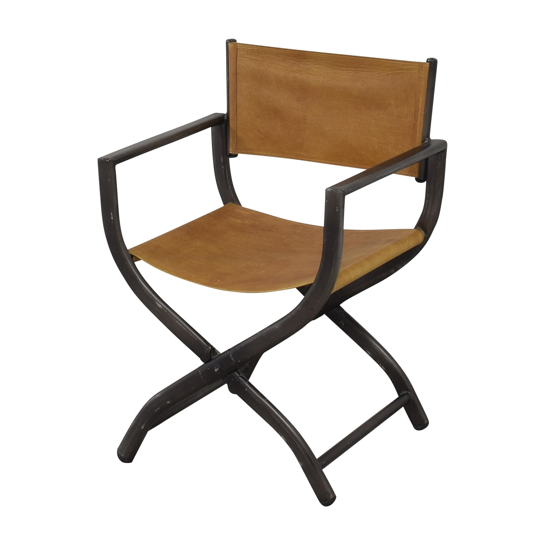 shop Restoration Hardware 1970s French Director's Chair Restoration Hardware Accent Chairs