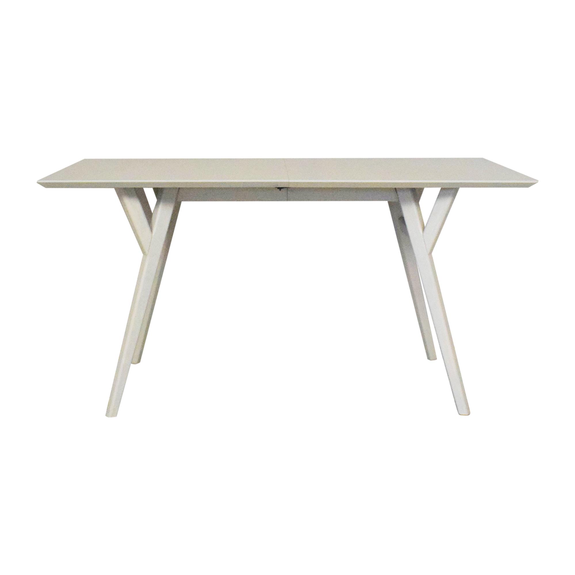 buy West Elm West Elm Mid Century Expandable Dining Table online