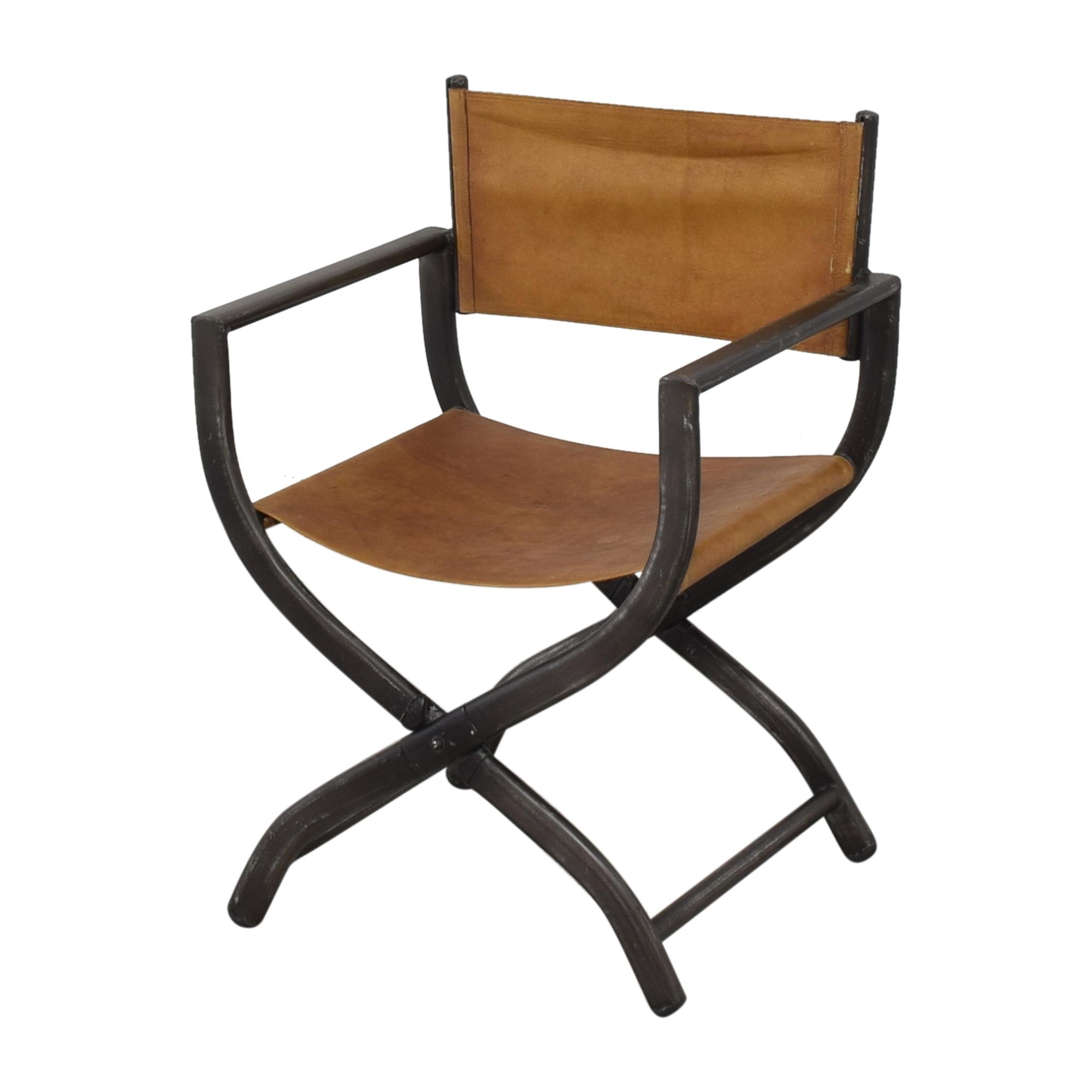 buy Restoration Hardware 1970s French Director's Chair Restoration Hardware