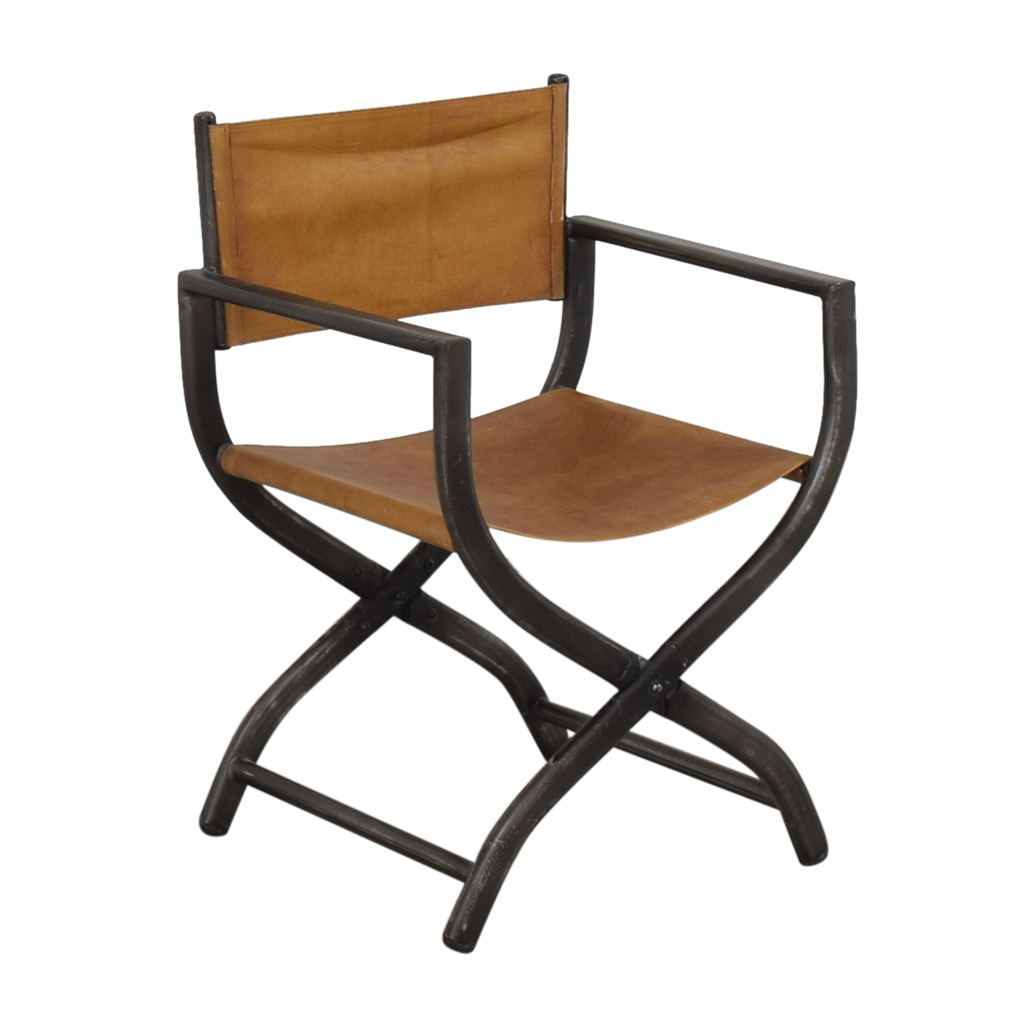 Restoration Hardware 1970s French Director's Chair sale