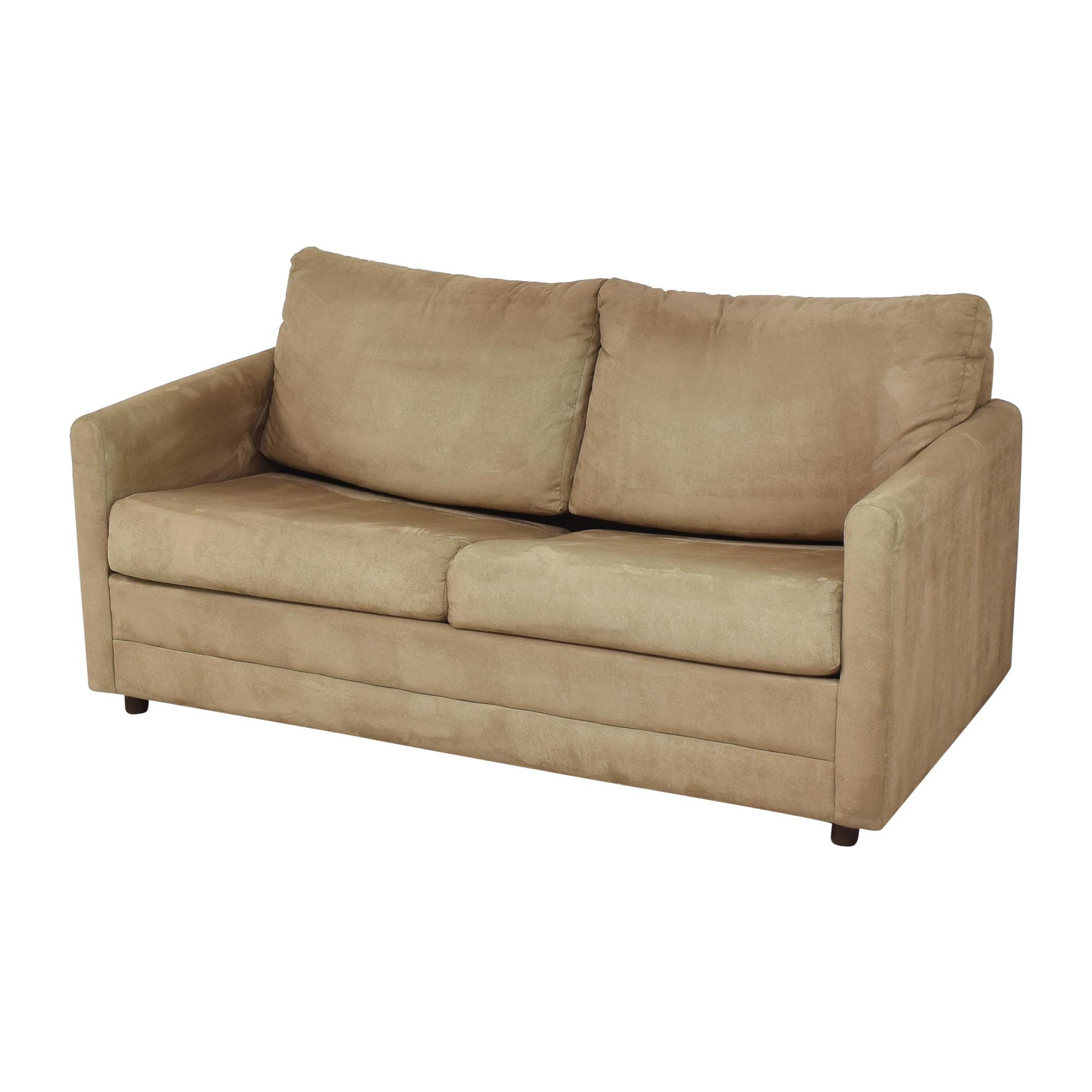 LaCrosse Furniture Lacrosse Furniture Two Cushion Sleeper Loveseat