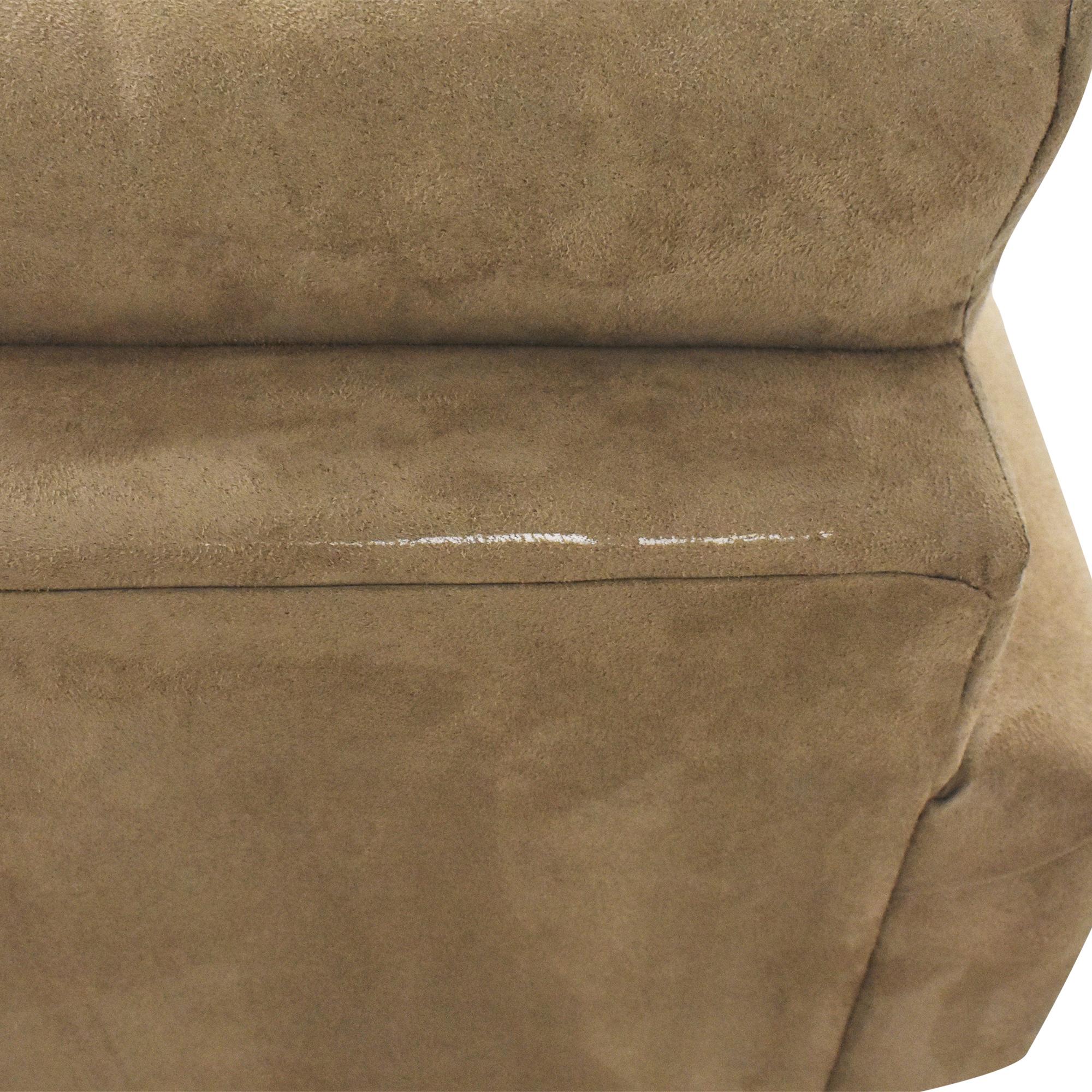 buy LaCrosse Furniture Lacrosse Furniture Two Cushion Sleeper Loveseat online