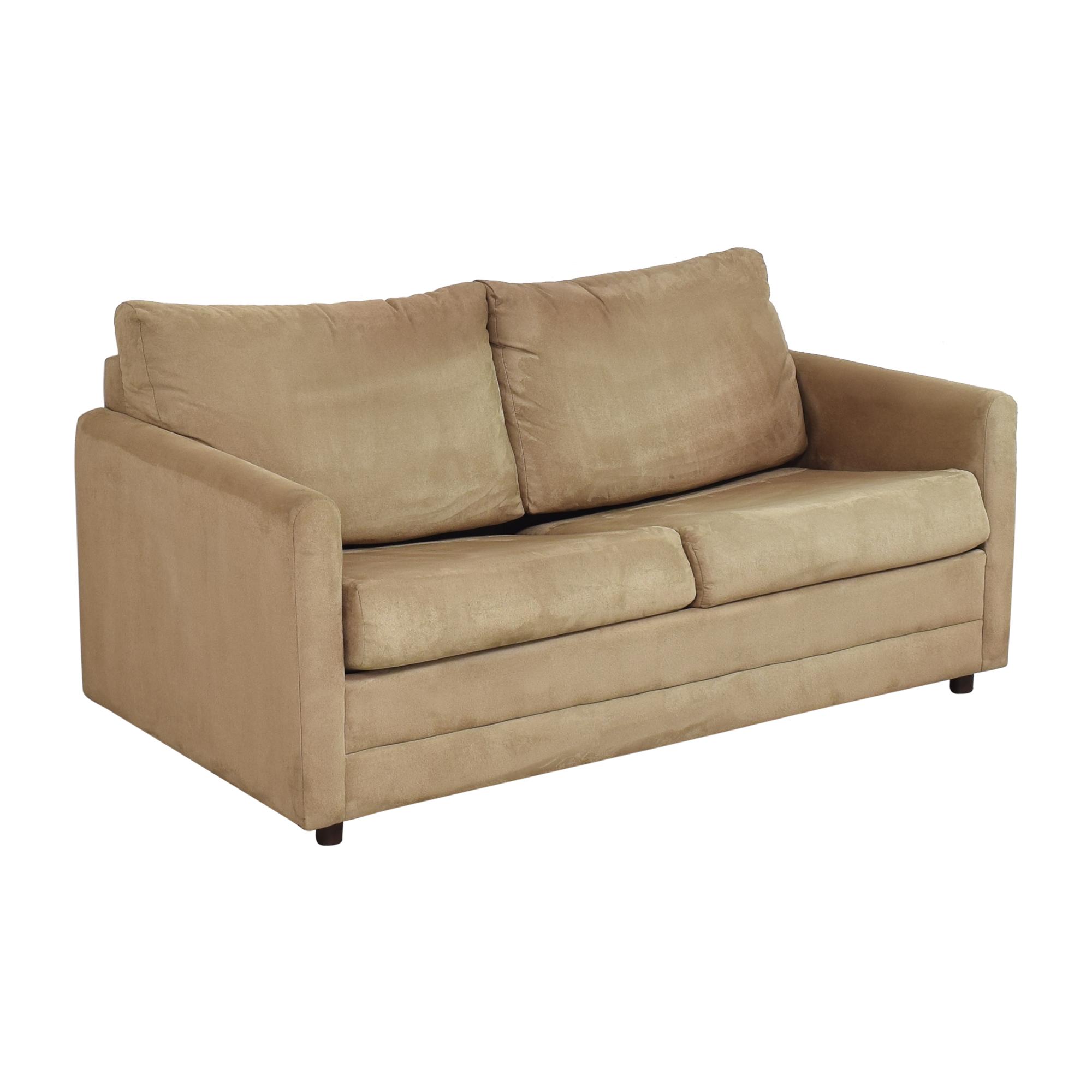 LaCrosse Furniture Lacrosse Furniture Two Cushion Sleeper Loveseat Sofas