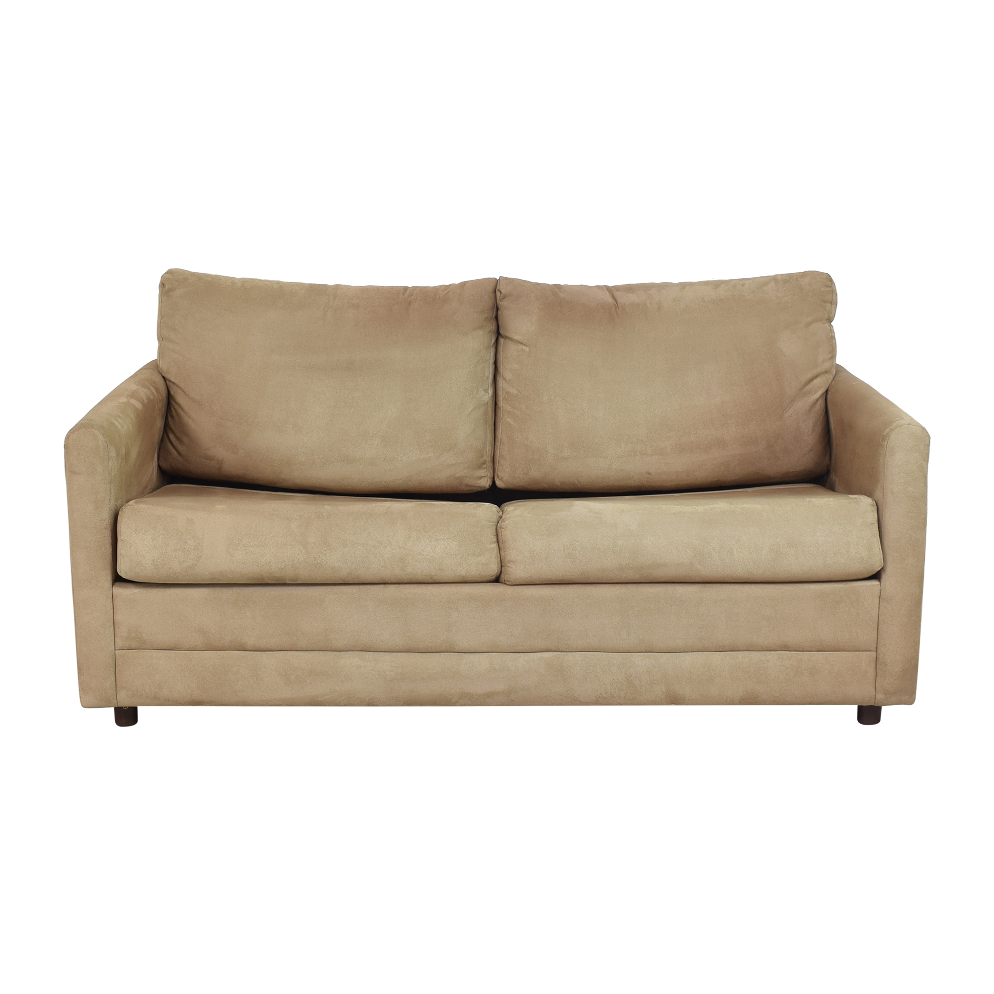buy Lacrosse Furniture Two Cushion Sleeper Loveseat LaCrosse Furniture Sofas