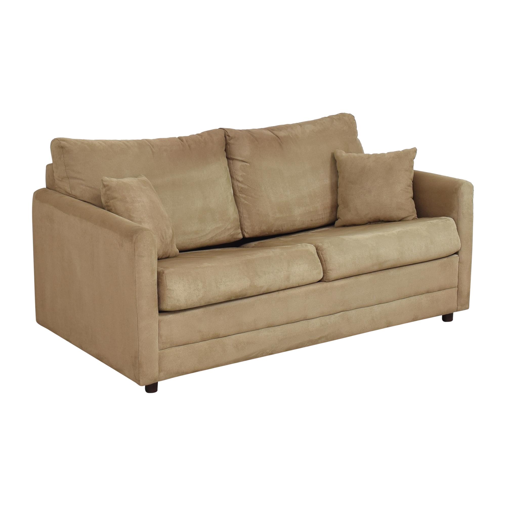 Lacrosse Furniture Two Cushion Sleeper Loveseat LaCrosse Furniture