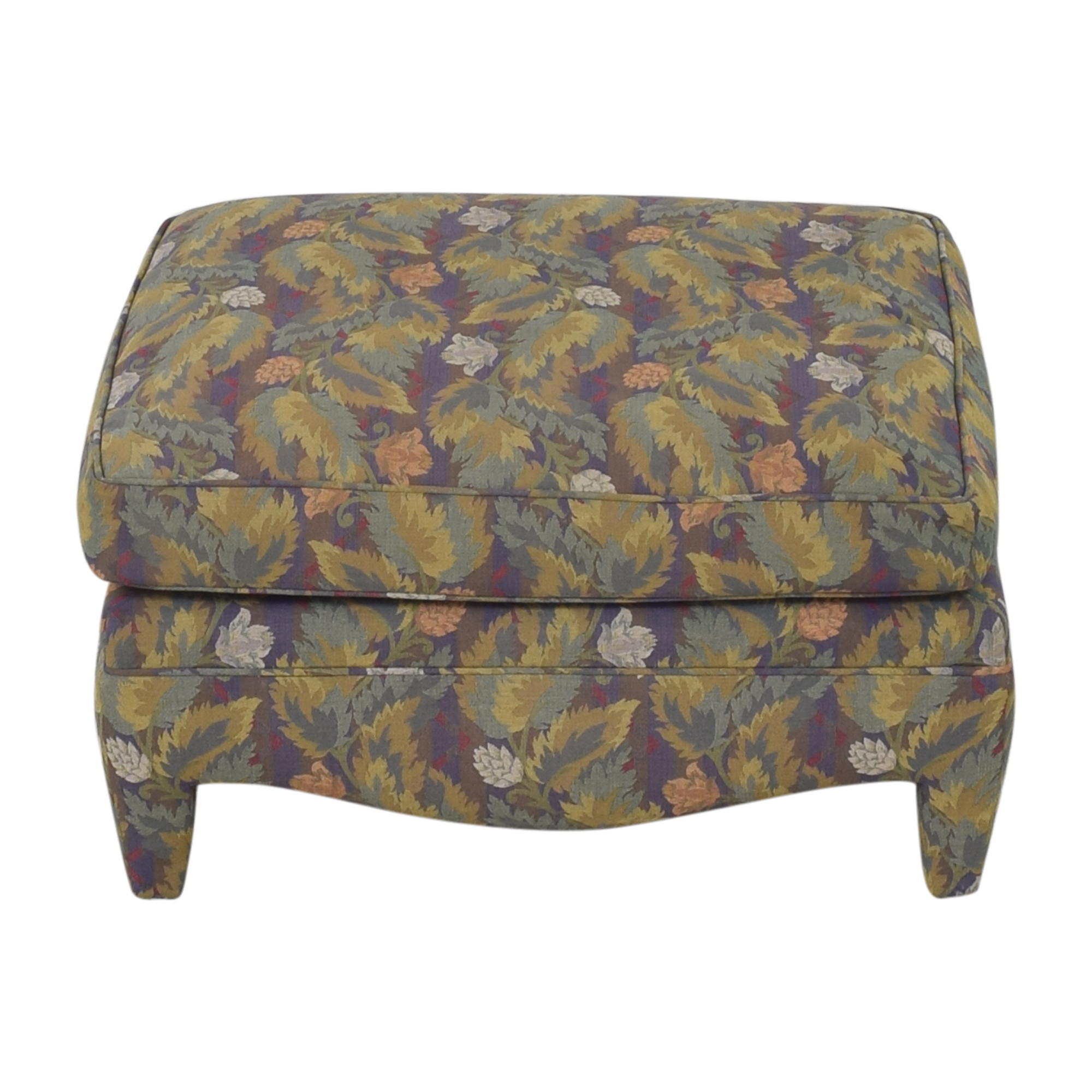 Donghia Donghia Floral Ottoman used