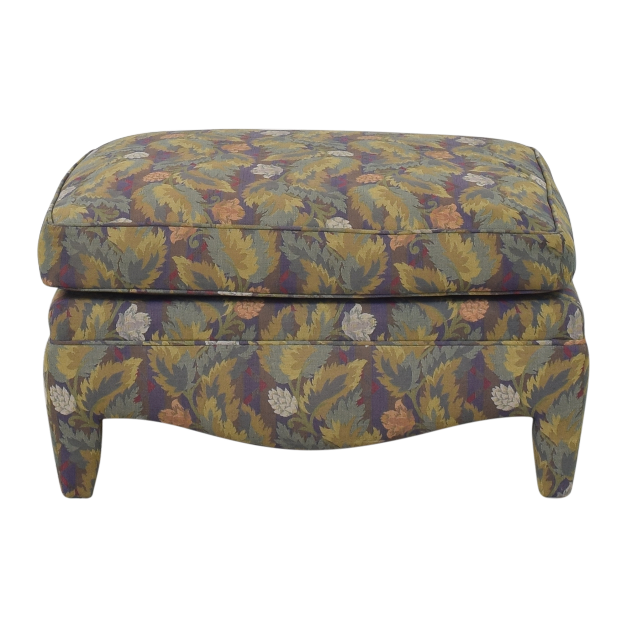 Donghia Floral Ottoman / Chairs
