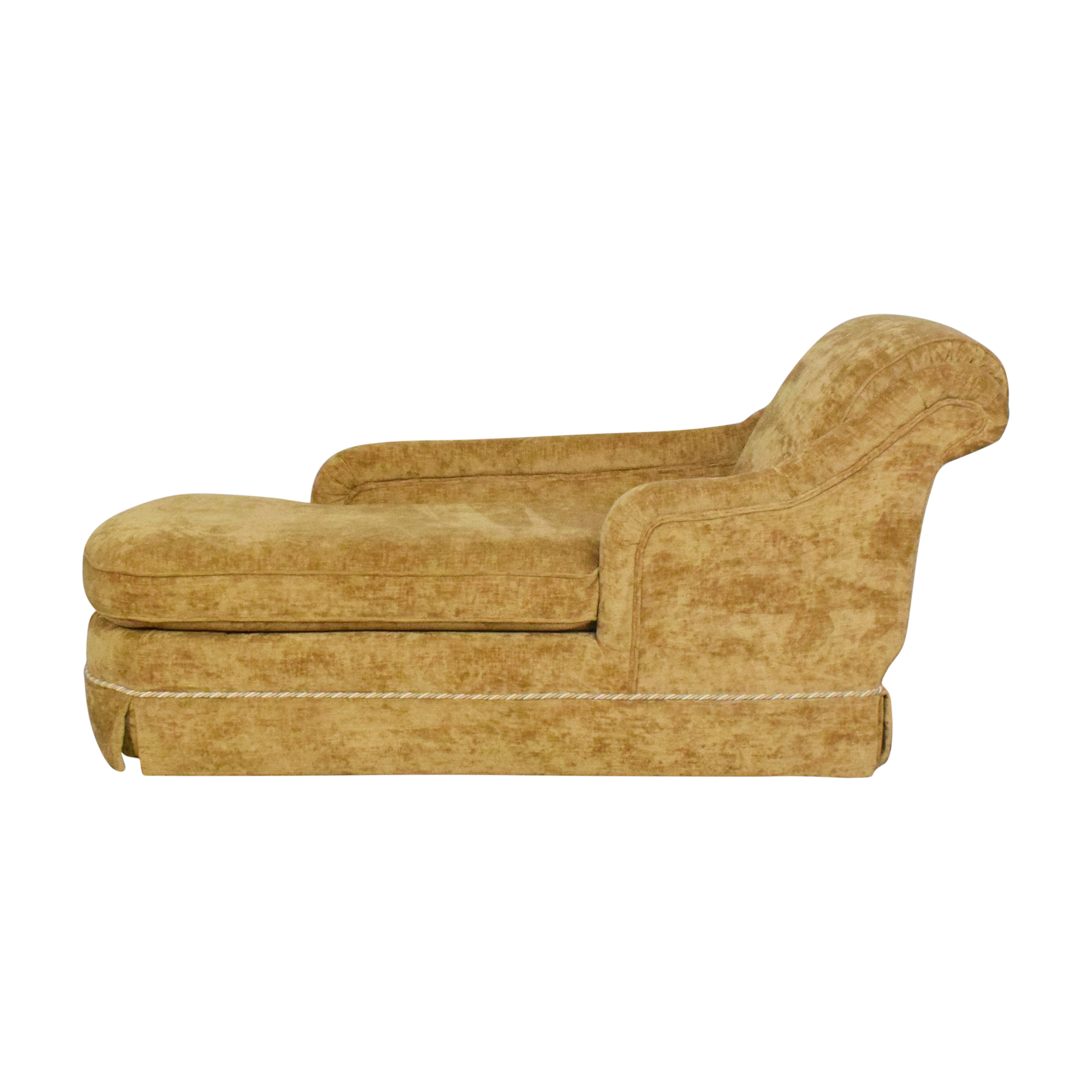 Klaussner Klaussner Roll Arm Chaise Lounge Chaises