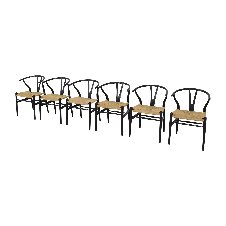 Carl Hansen & Son Carl Hansen & Son CH24 Wishbone Dining Chairs ma