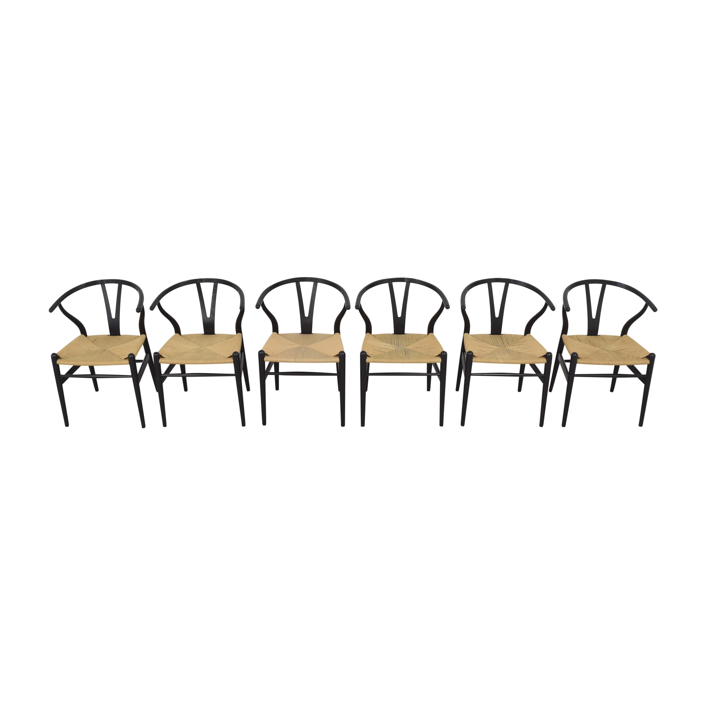 Carl Hansen & Son Carl Hansen & Son CH24 Wishbone Dining Chairs nj