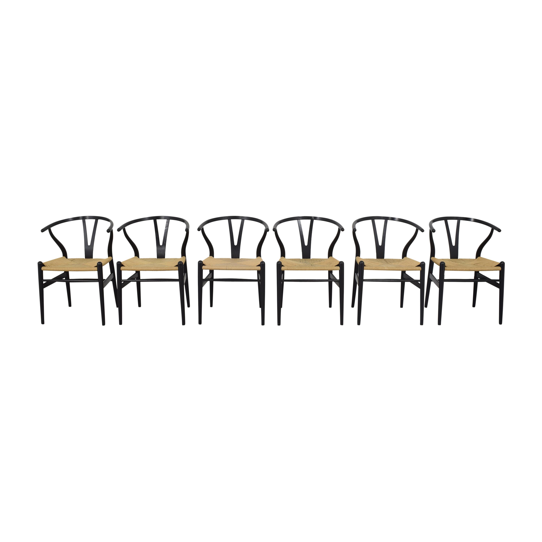 shop Carl Hansen & Son CH24 Wishbone Dining Chairs Carl Hansen & Son