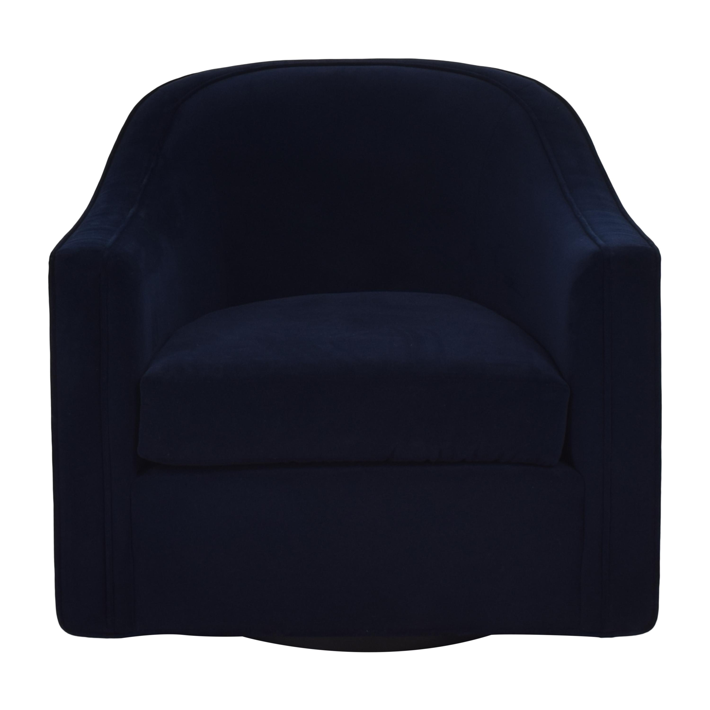 Bright Bright Swivel Barrel Chair nyc