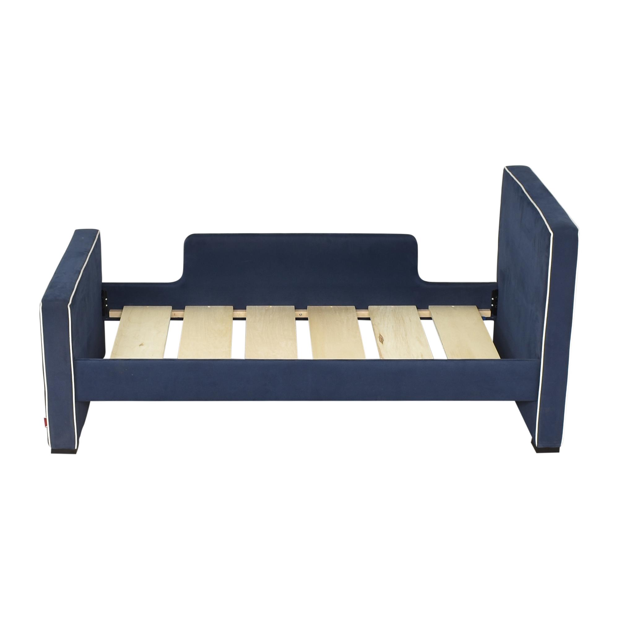 shop Monte Design Dorma Twin Bed Monte Design Bed Frames