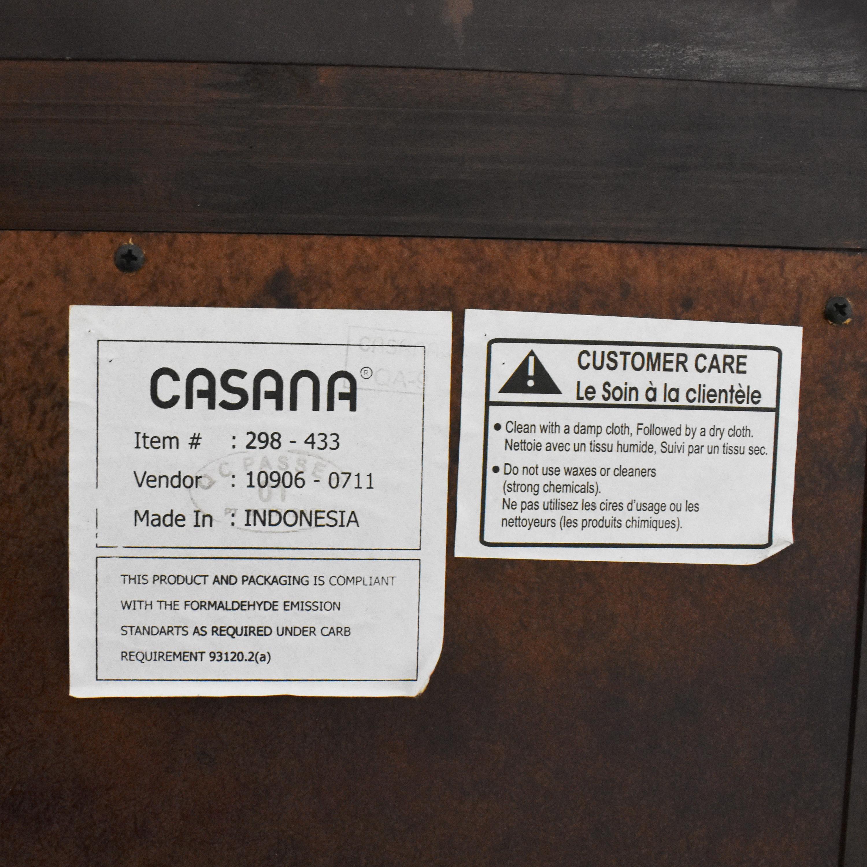 buy Casana Three Drawer Nightstands Casana Furniture
