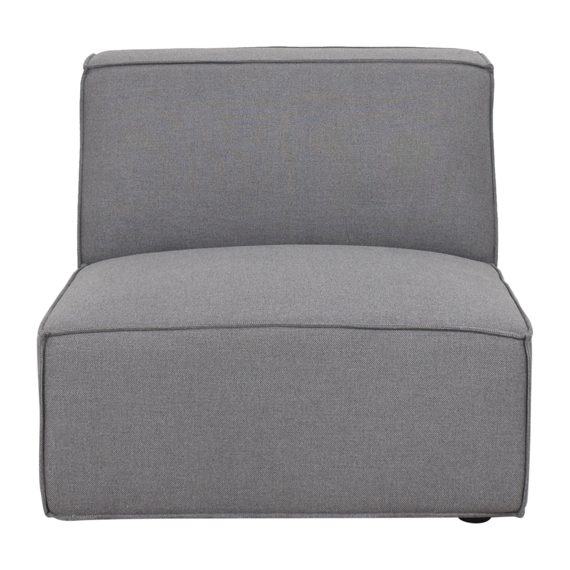 buy Rove Concepts Porter Armless Grande Chair Rove Concepts