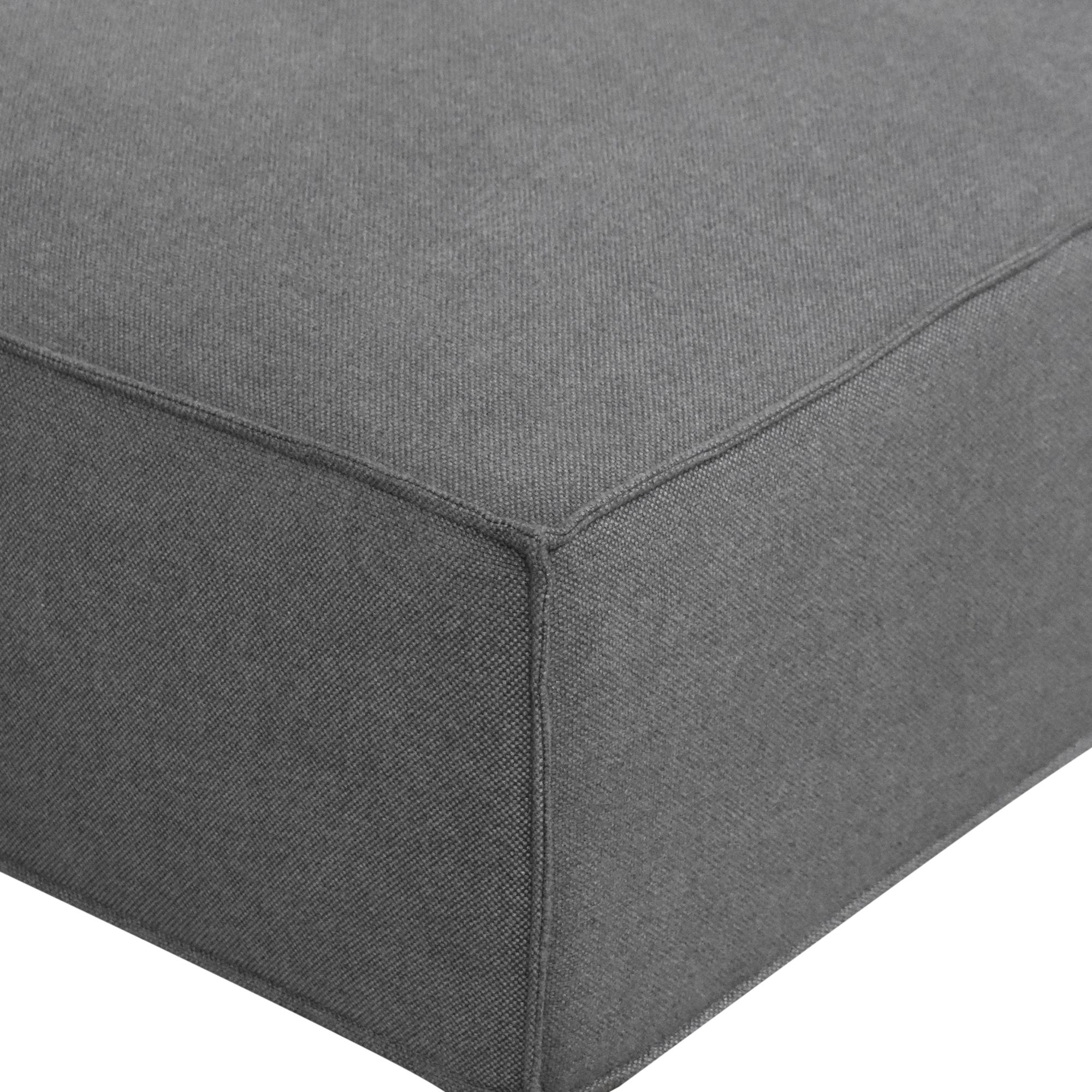 Rove Concepts Rove Concepts Porter Ottoman gray