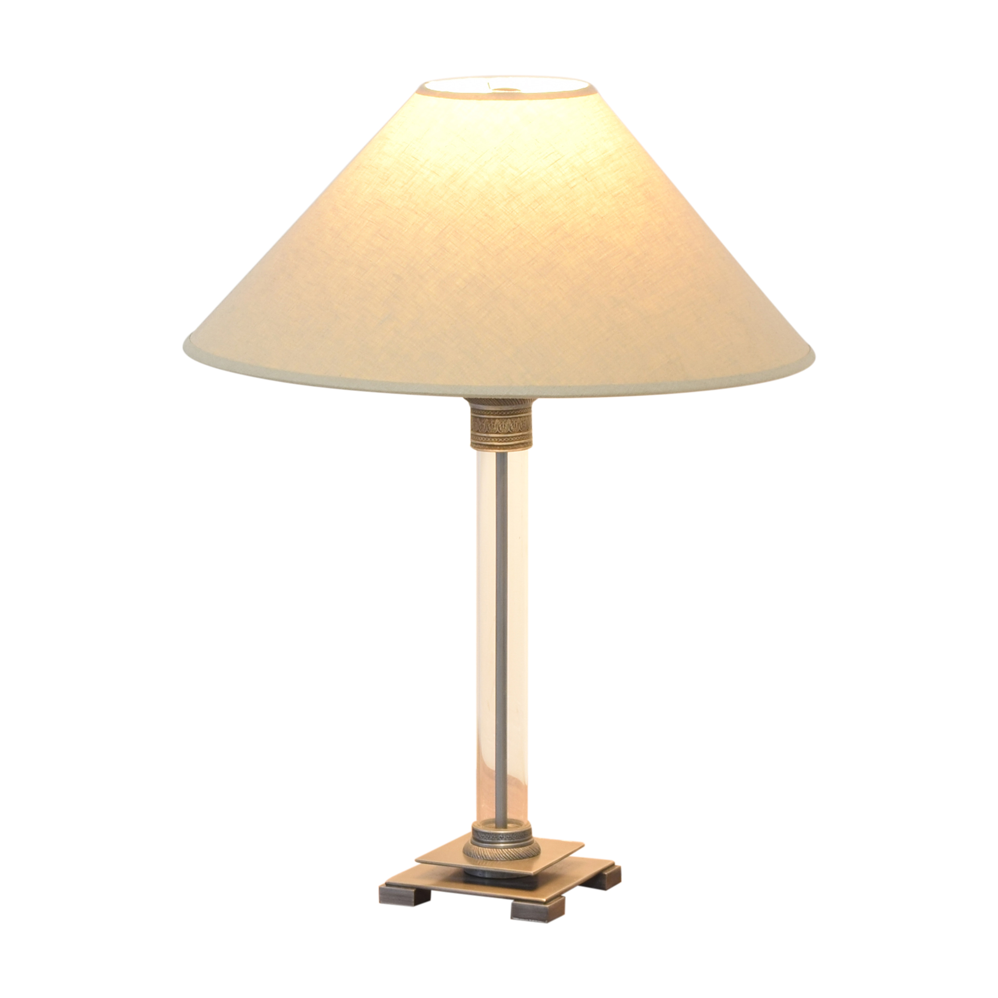 shop Restoration Hardware Restoration Hardware Column Table Lamp online