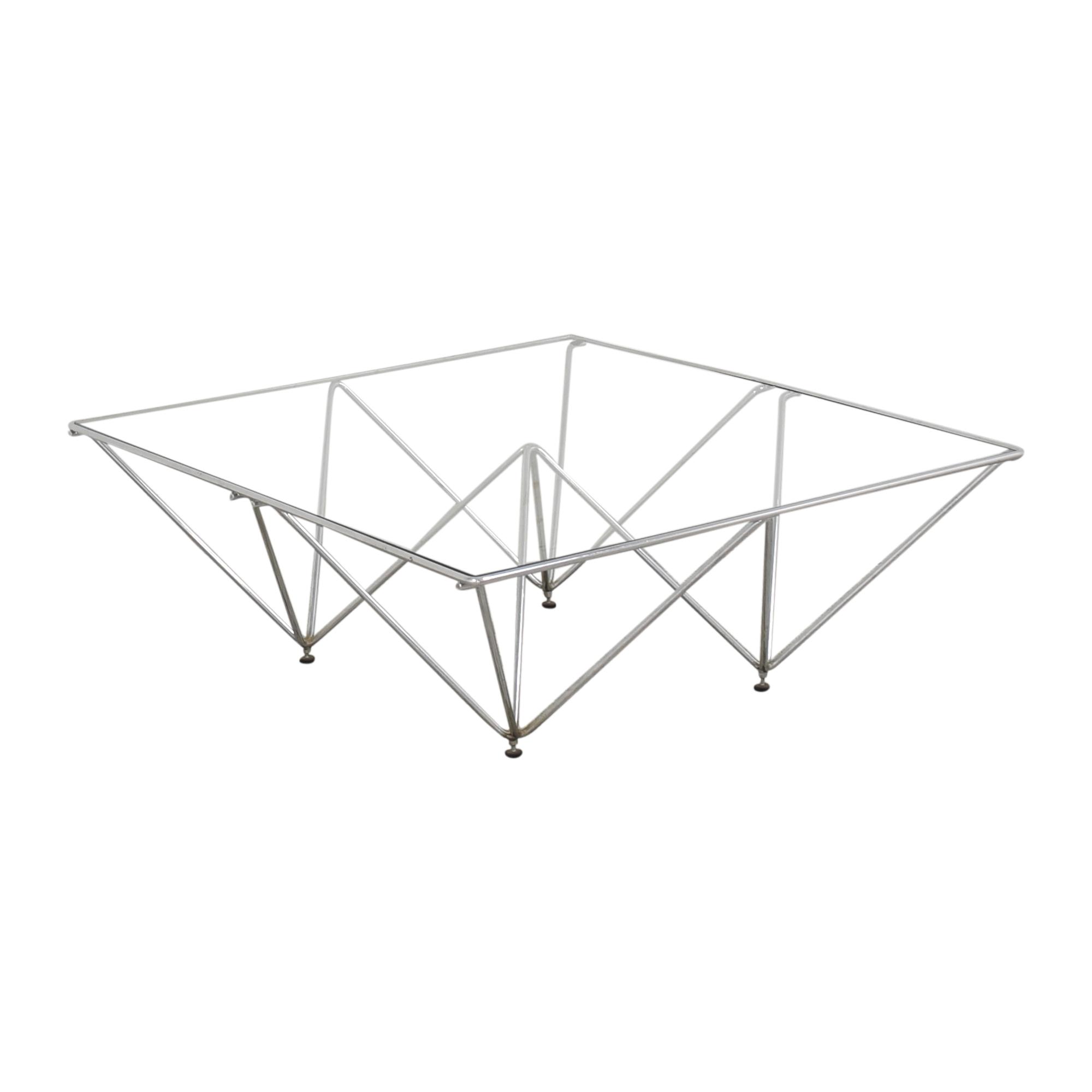 Paolo Piva Alanda Pyramid Coffee Table sale