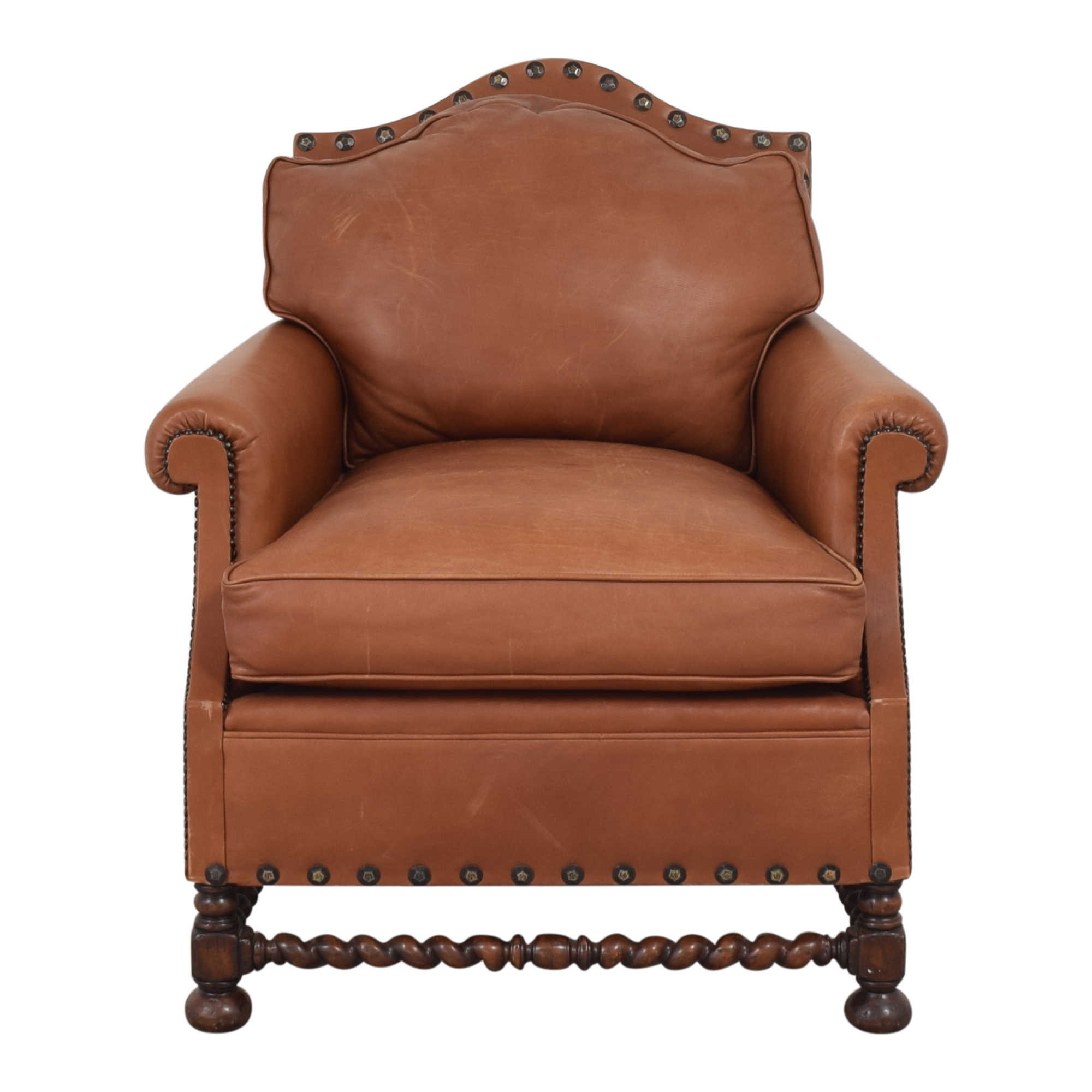 Vintage Spanish Revival Style Accent Chair