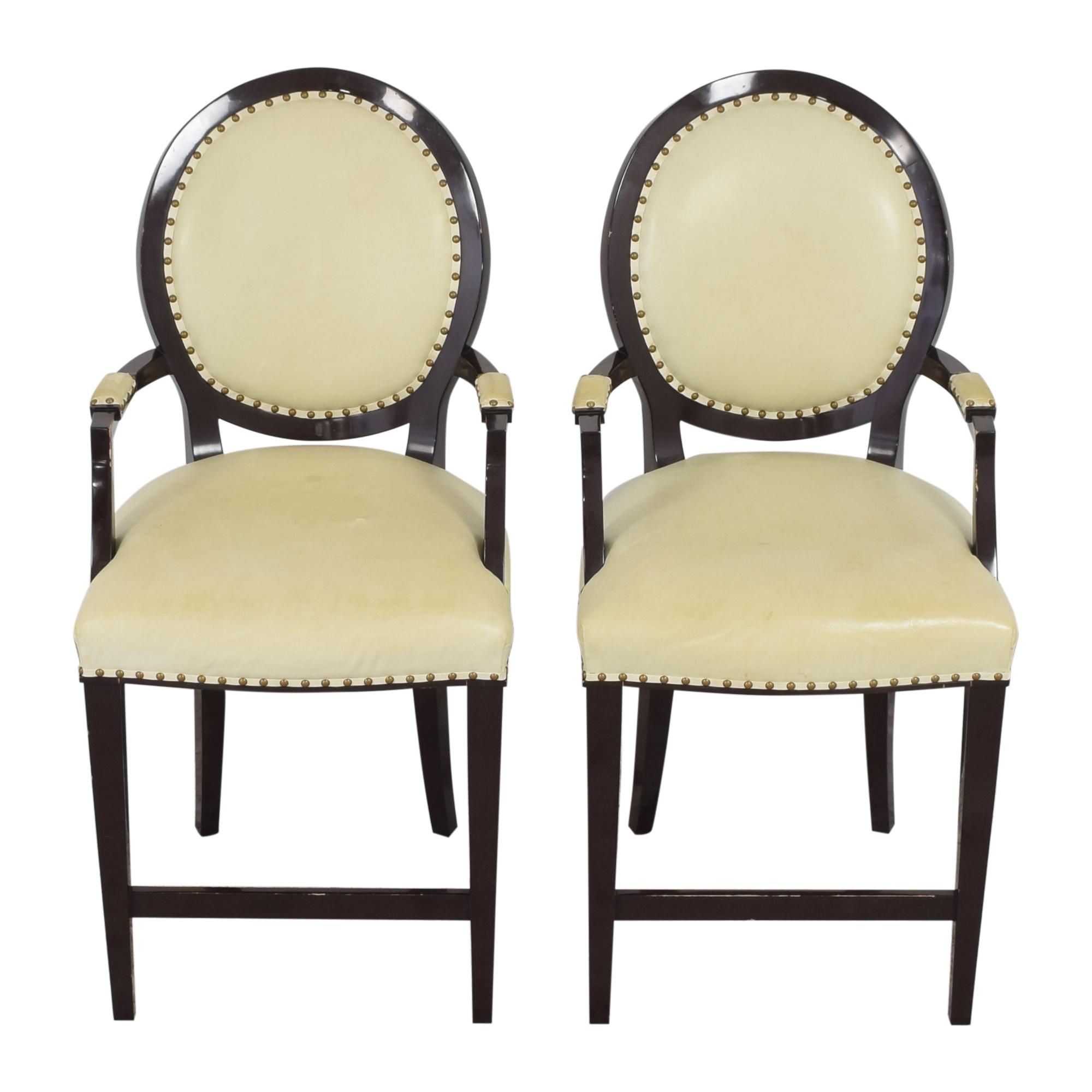 Nancy Corzine Nancy Corzine Louis XVI Arm Chairs for sale