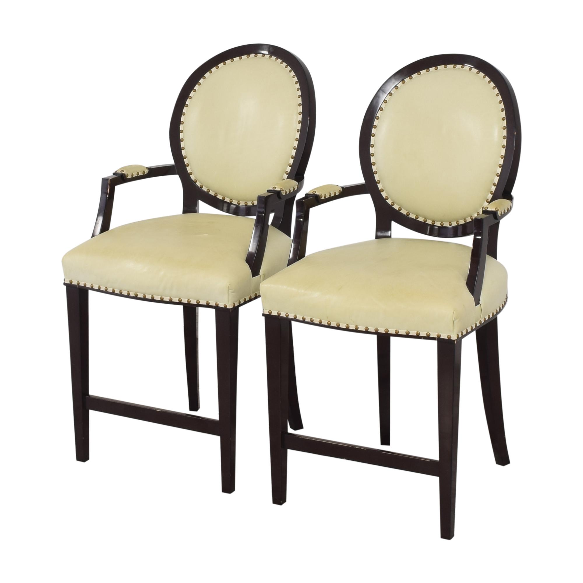 Nancy Corzine Nancy Corzine Louis XVI Arm Chairs nj
