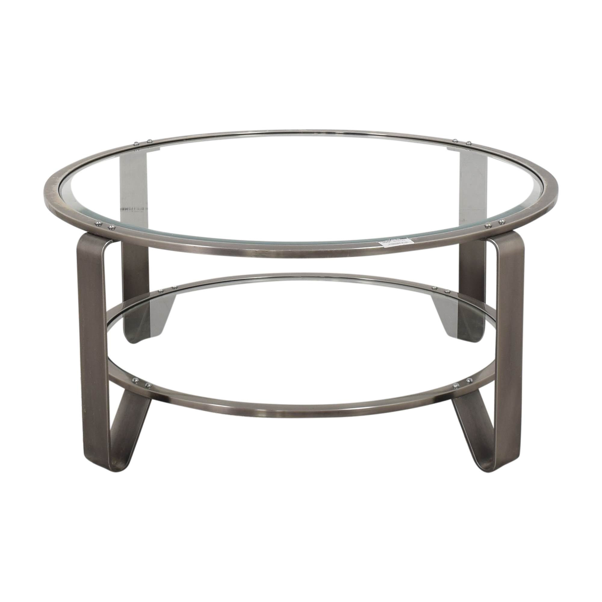 shop  Two Shelf Round Coffee Table online